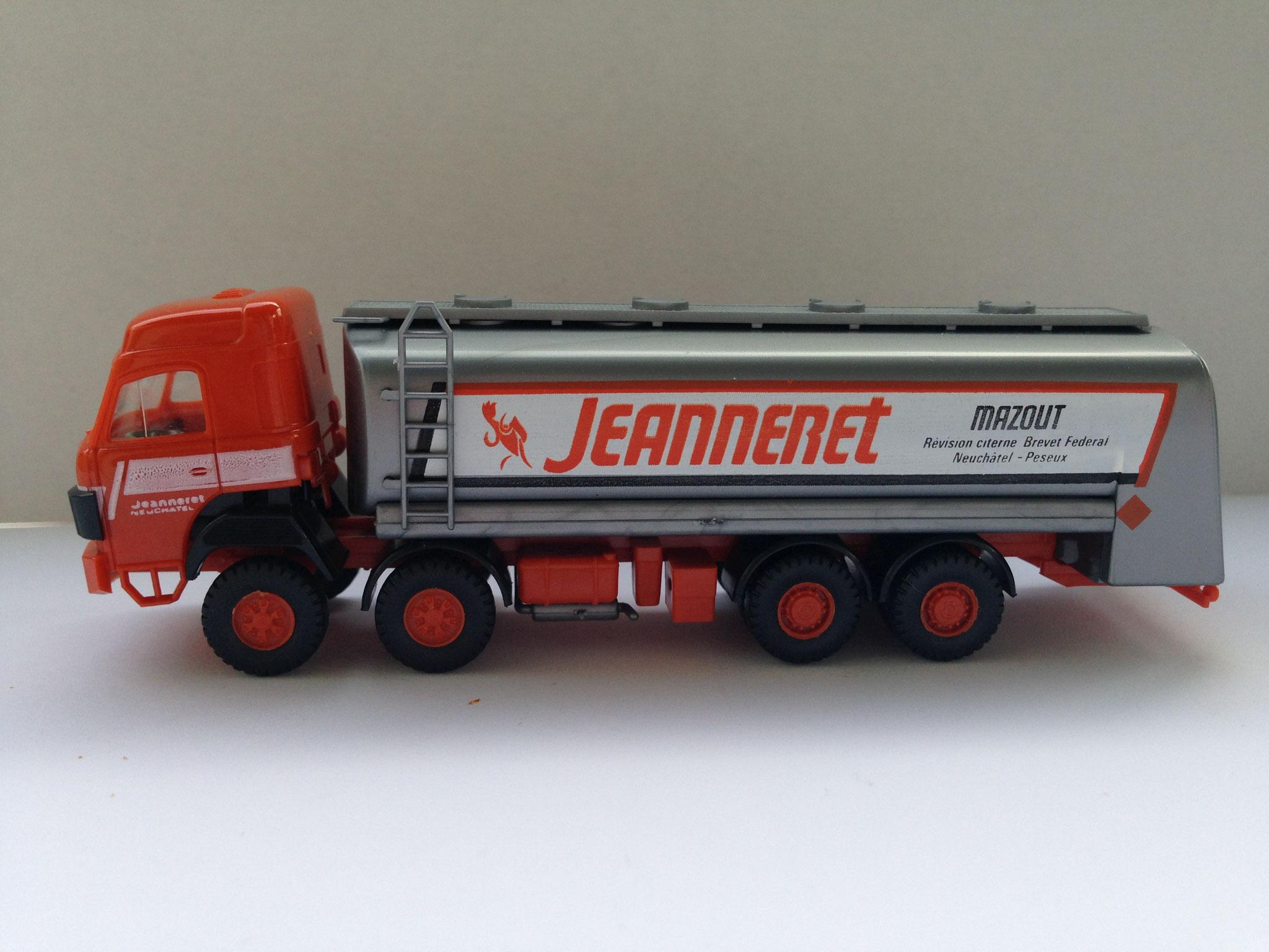 Jeanneret, 4-Achs-Tankwagen, Art. Nr. 507 (ab 1984 im Programm)