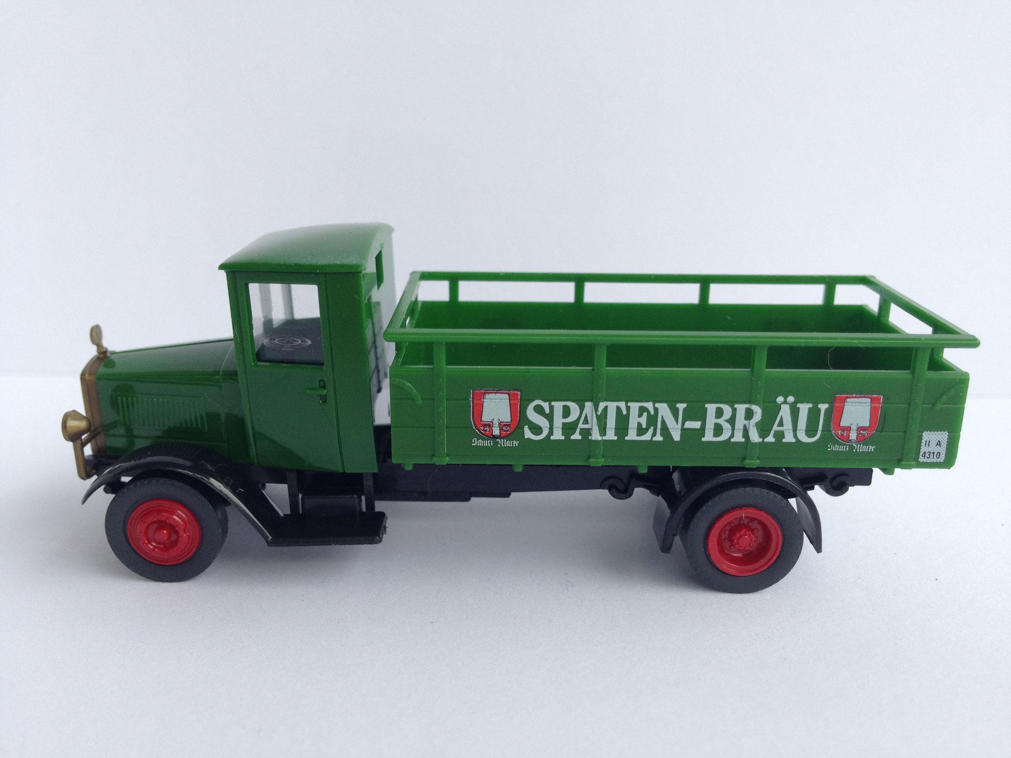 Mercedes L5 Bierwagen Spaten-Bräu, Art. Nr. 1001 (ab 1988 im Programm)