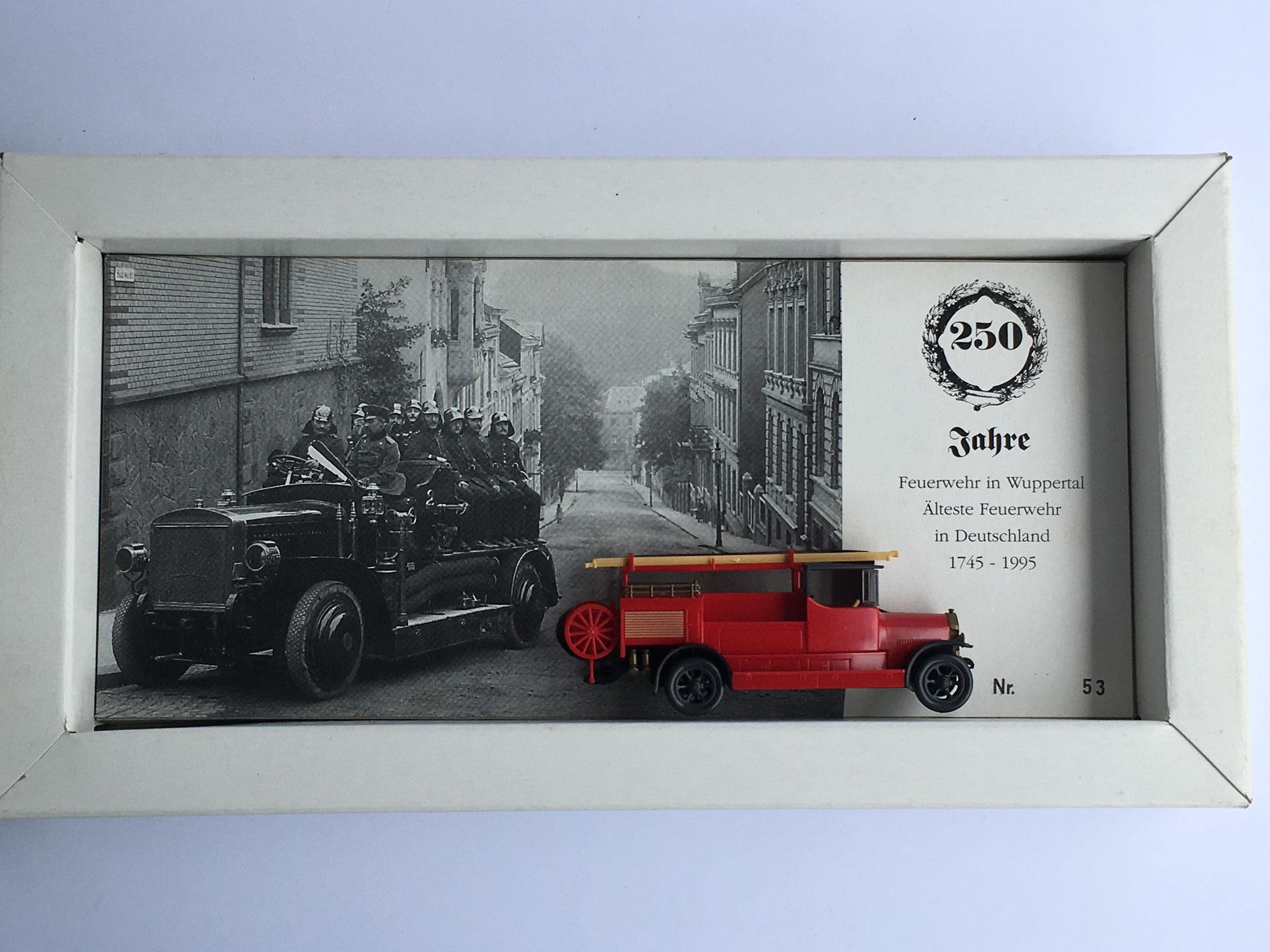 Benz LF12 Feuerwehr-Motorspritze, 250 Jahre Feuerwehr Wuppertal