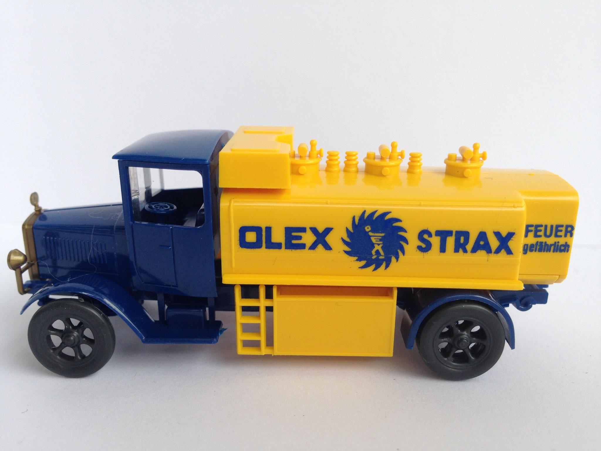 Mercedes L5 Tankwagen OLEX STRAX, Art. Nr. 1017 (ab 1989 im Programm)