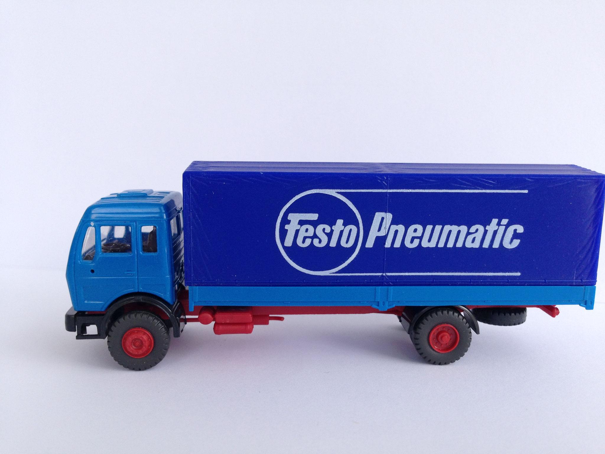 Festo Pneumatic 2-Achser Pritsche/Plane