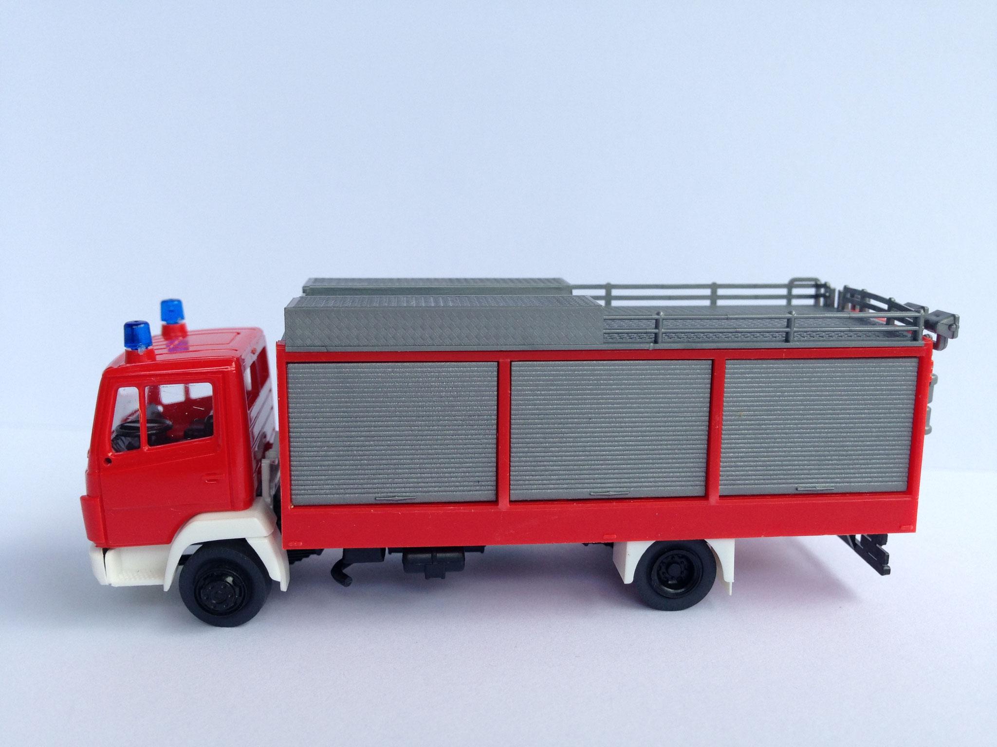 Feuerwehr, 2-Achs-Gerätewagen, Aufbau Ziegler, Art. Nr. 462 (ab 1986 im Programm)