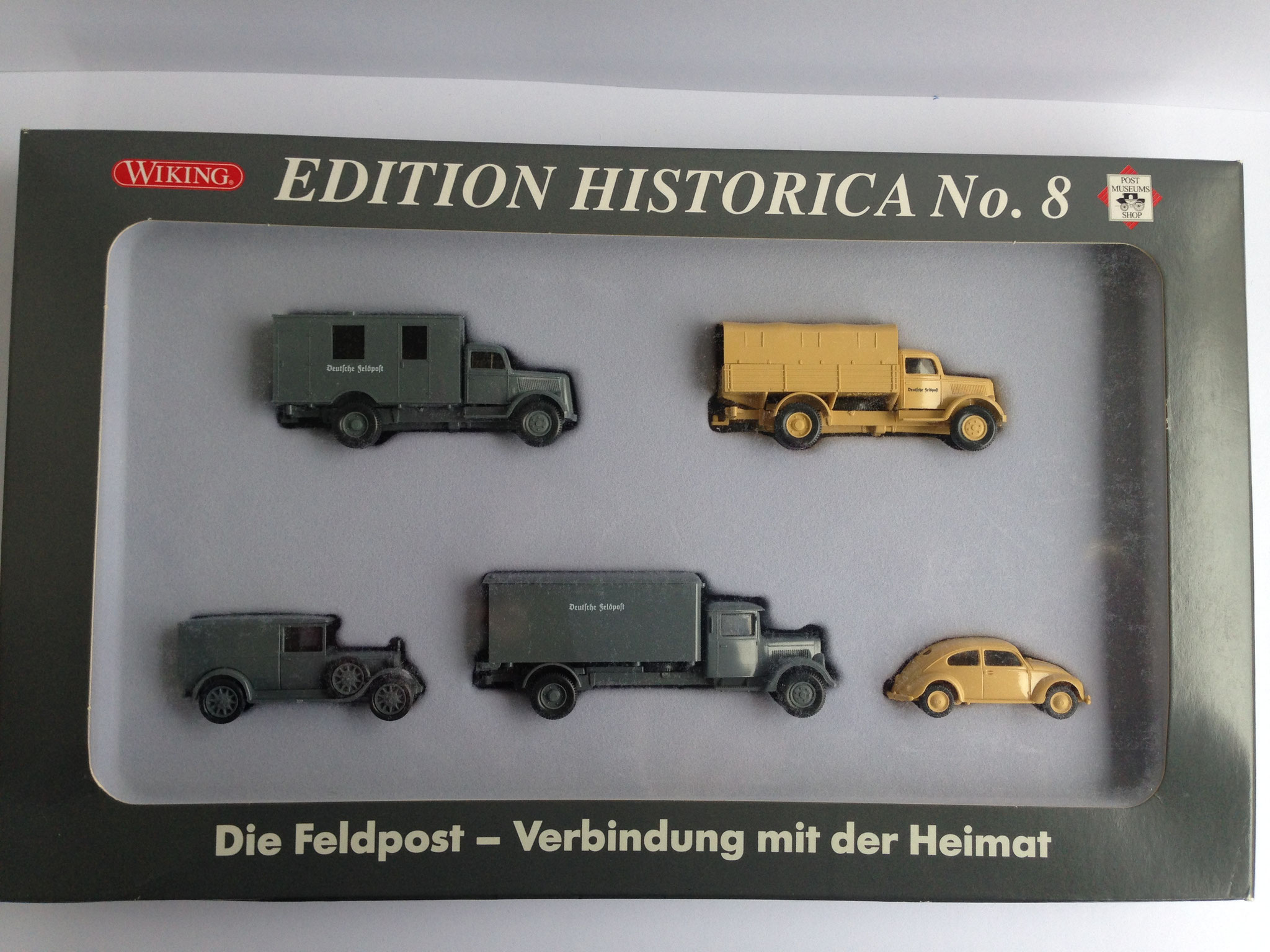 "Set ""Edition Historica Nr. 8 (Post-Museums-Shop, Nr. 81-30), 2005"