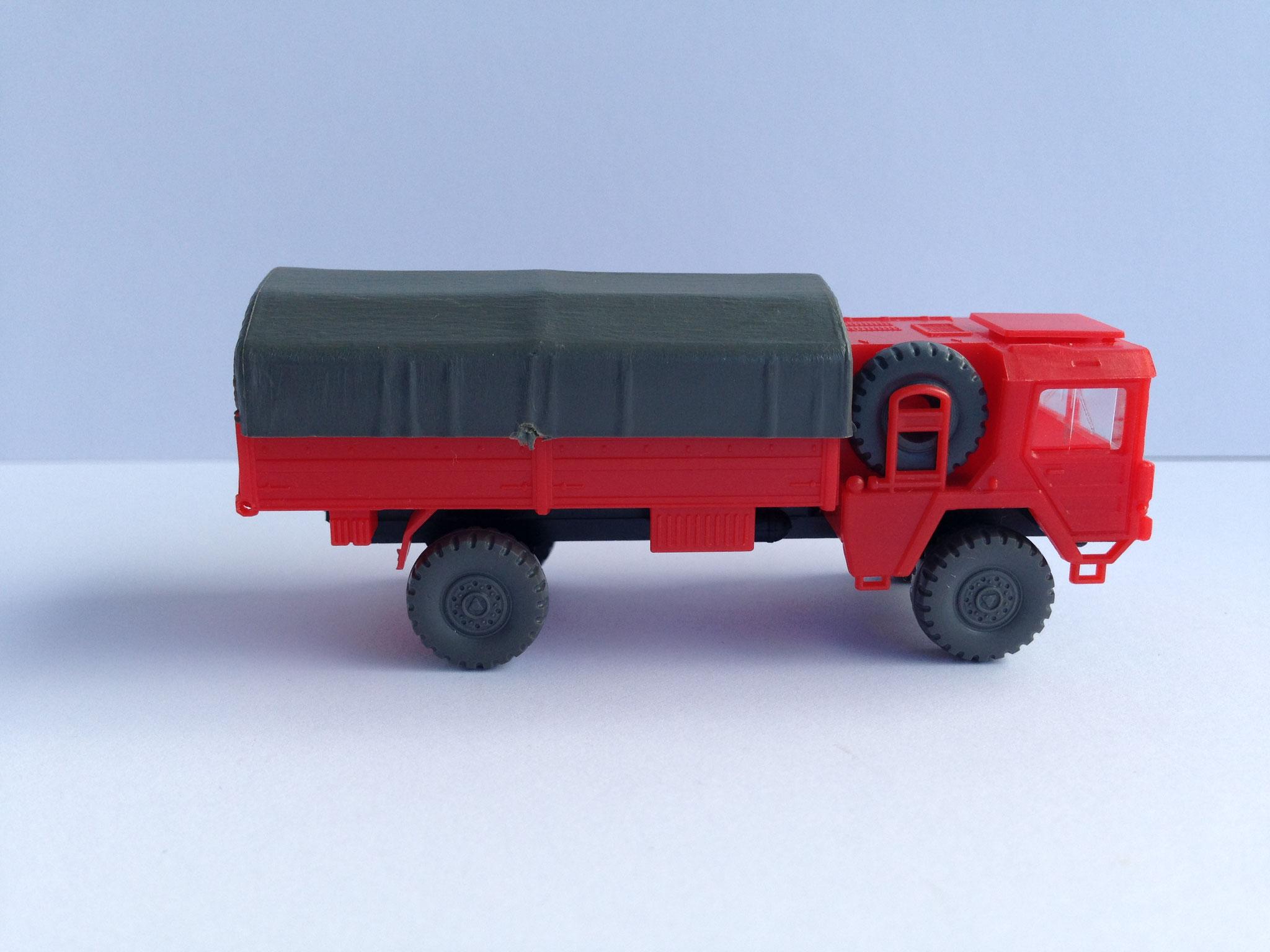MAN 2-achsig, 5 t, Ausführung Feuerwehr, Art. Nr. 207 (ab 1981/82 im Programm)