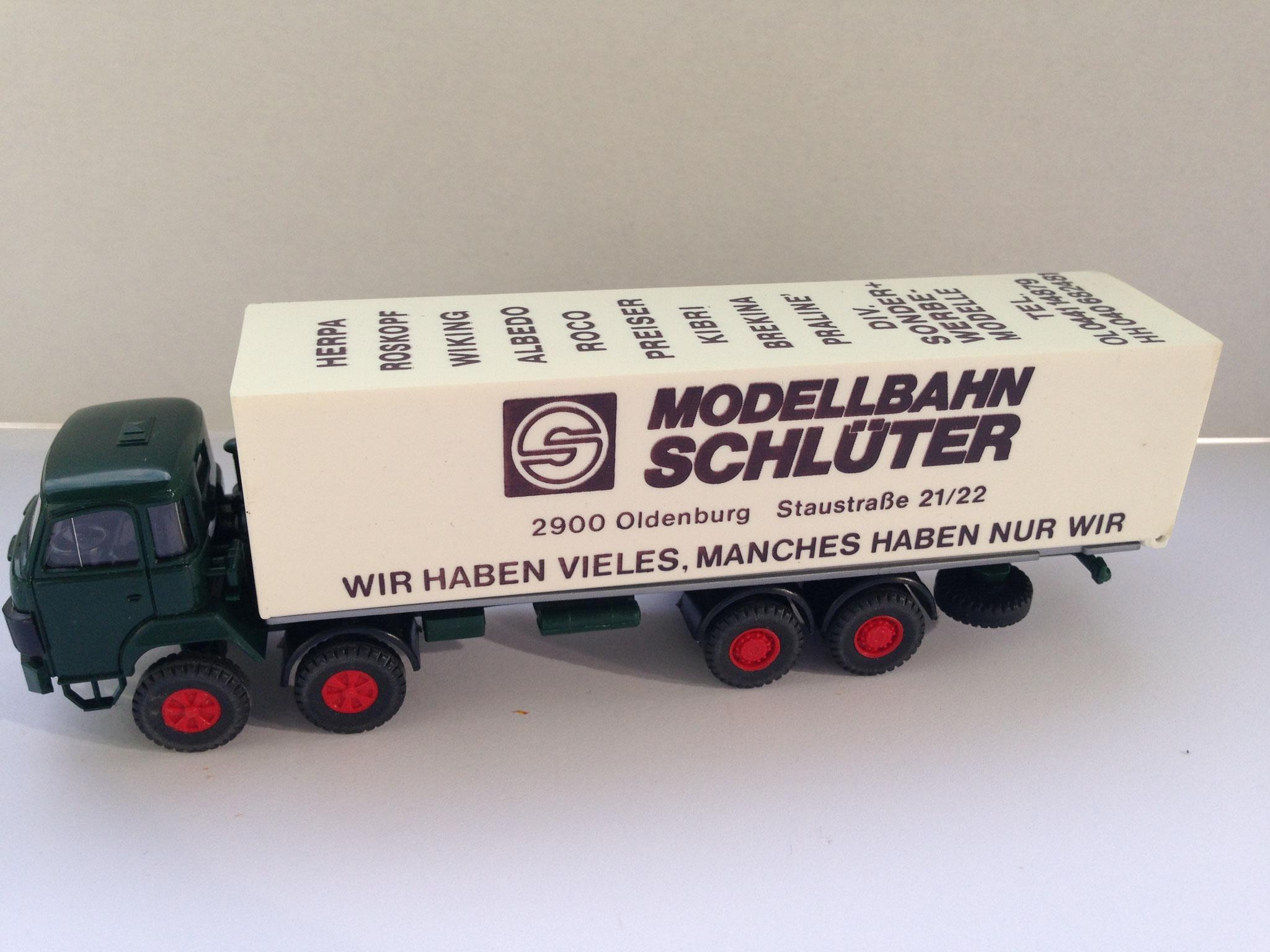 Modellbahn Schlüter, 4-Achser Kasten, Sondermodell