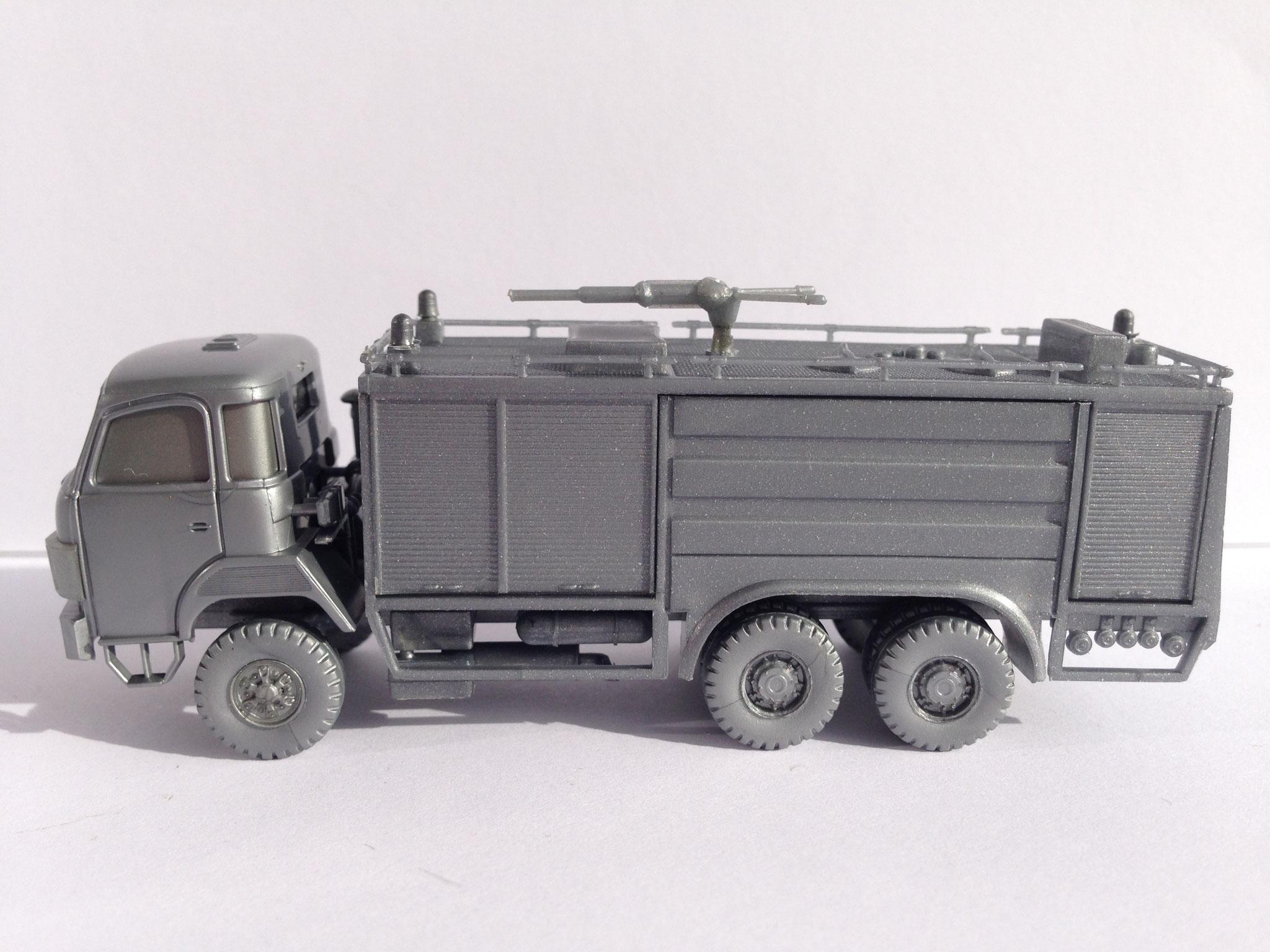 Saurer Tanklöschfahrzeug, limitierte Auflage für Peter's Modellbahnstübchen
