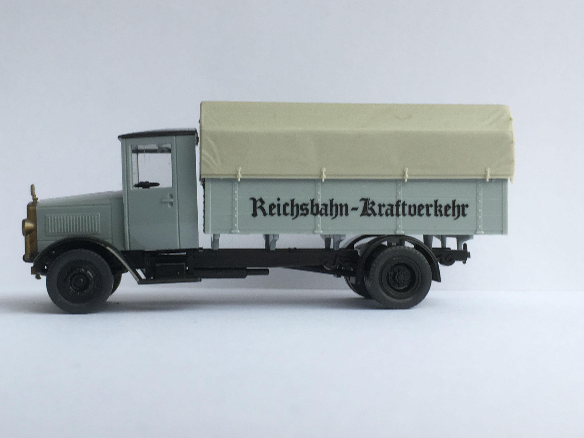 Mercedes L5 Reichsbahn-Kraftverkehr, Art. Nr. 1006 (ab 1988 im Programm)