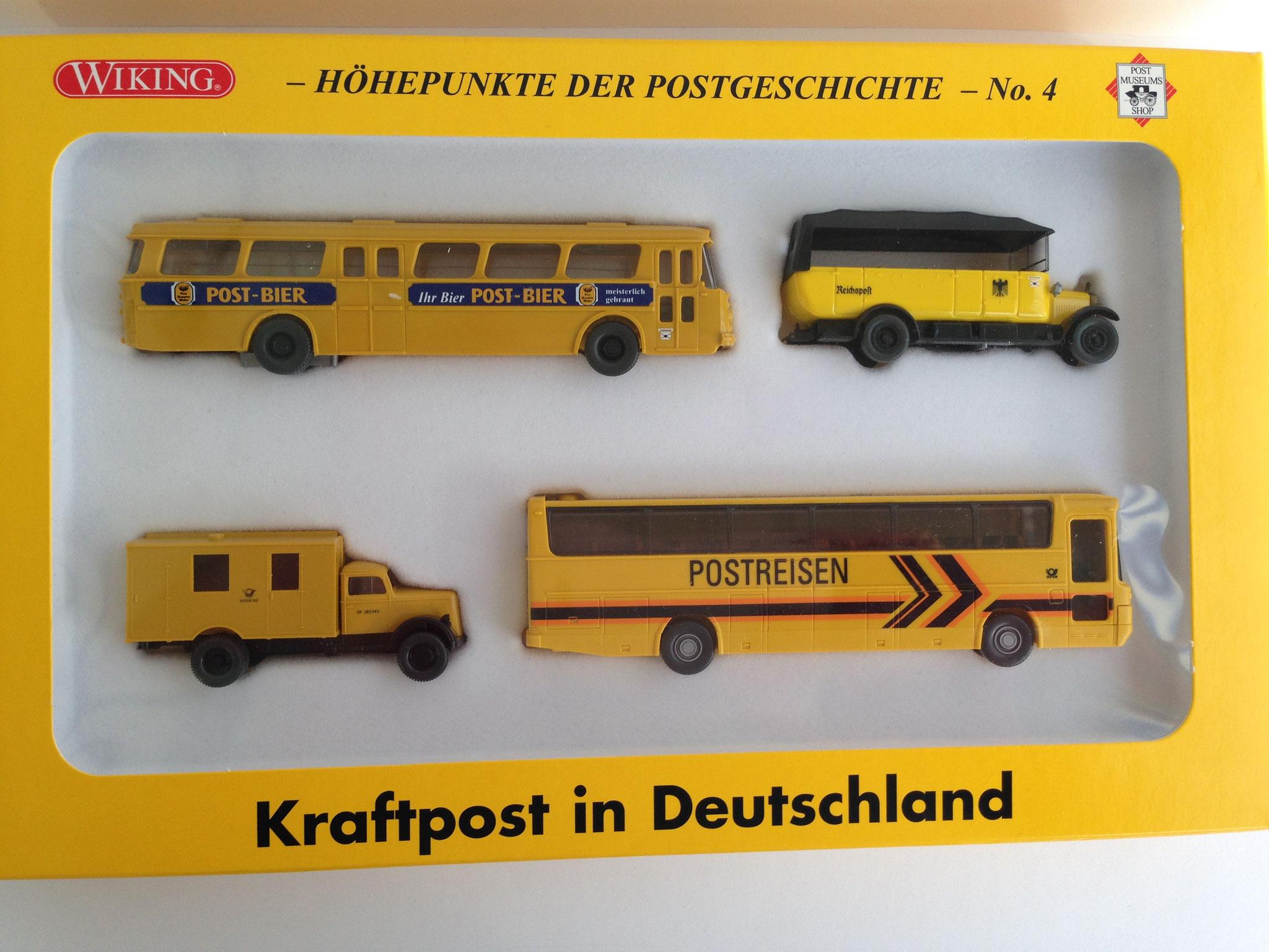 """Set """"Kraftpost in Deutschland / Höhepunkte der Postgeschichte Nr. 4"""", 2005, Art. Nr. 81-28"""