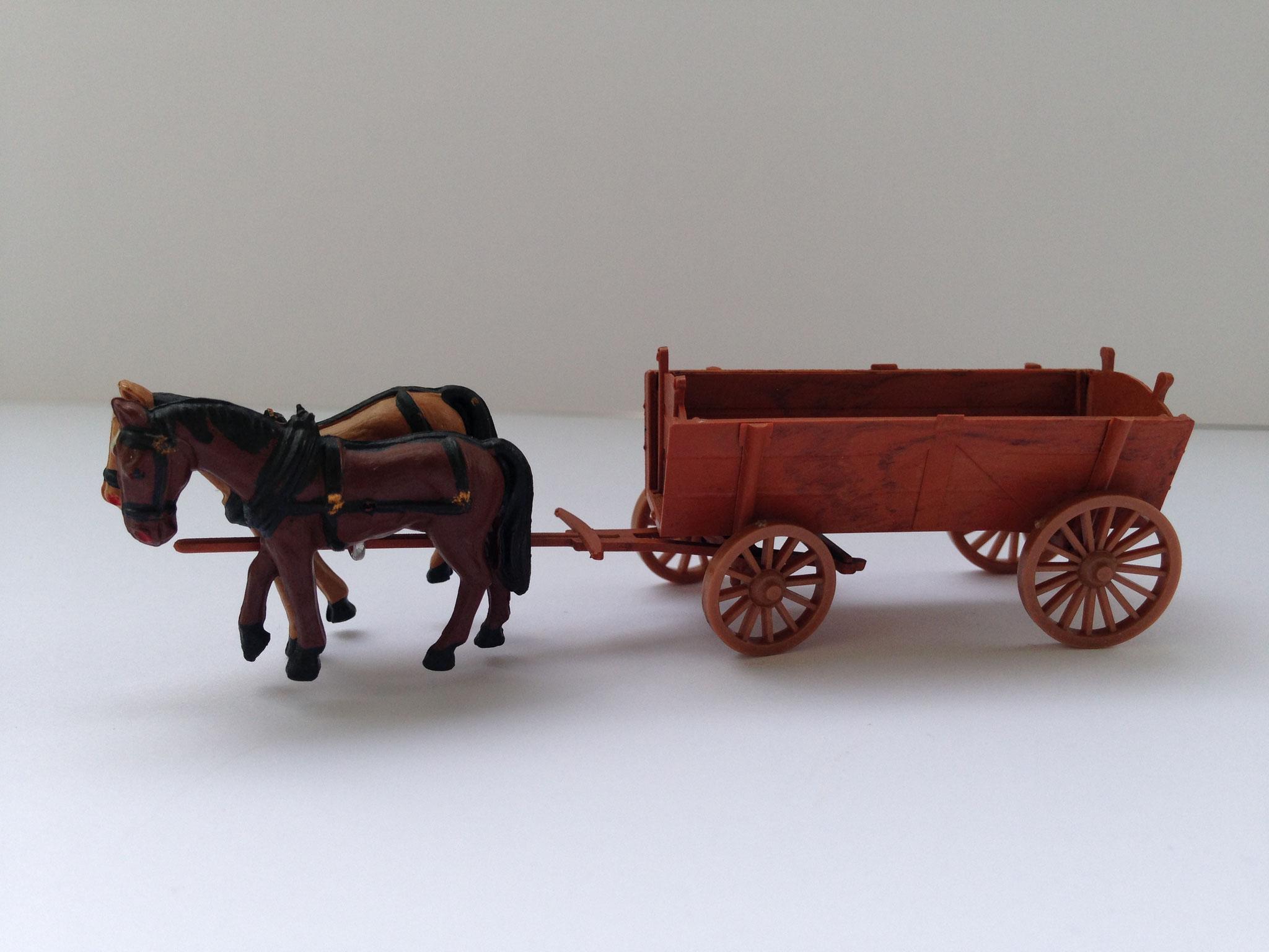Ackerwagen mit Pferdegespann, Art. Nr. 205 (ab 1956/57 im Programm)