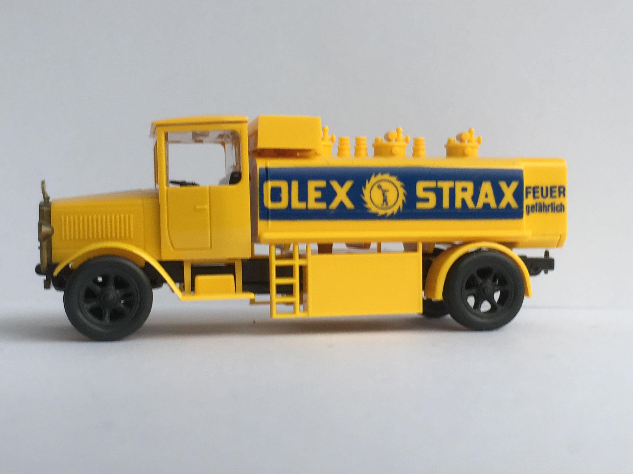 Mercedes L5 Tankwagen OLEX STRAX, Variante 2, Art. Nr. 1017 (ab 1989 im Programm)