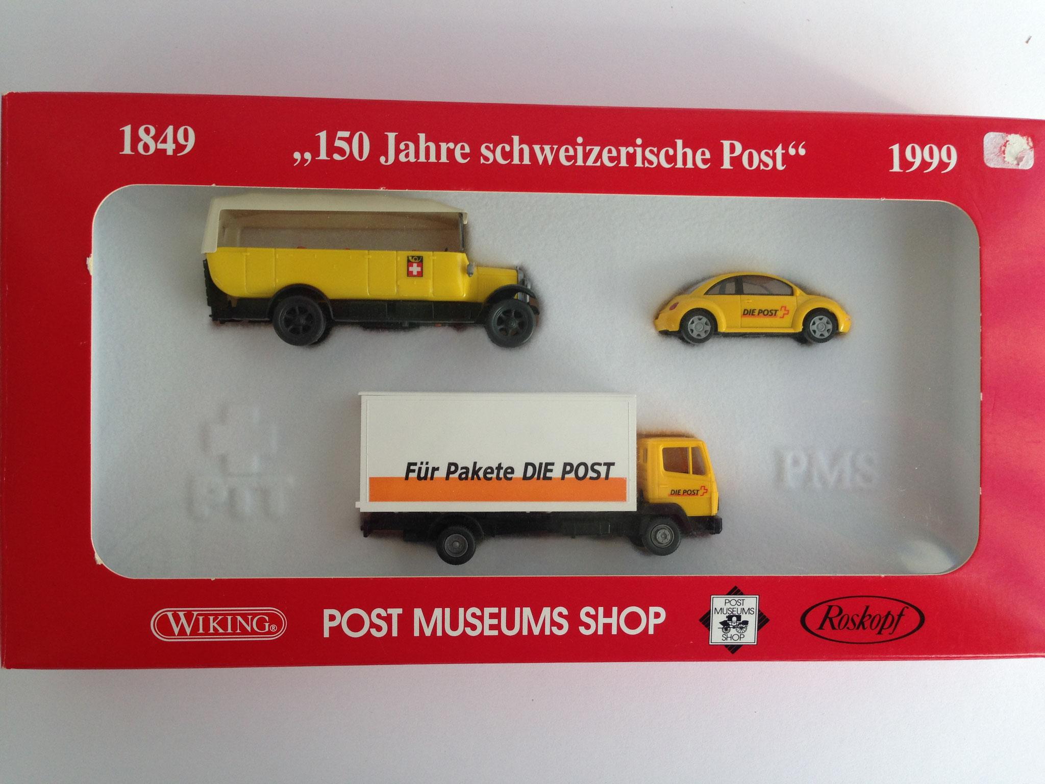 """Set """"150 Jahre schweizerische Post"""", 1999, Art. Nr. 81-05"""