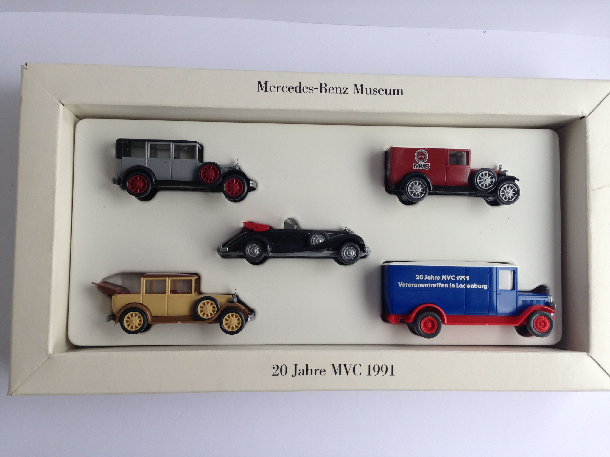 Set 20 Jahre MVC 1991 (MB-Museum)