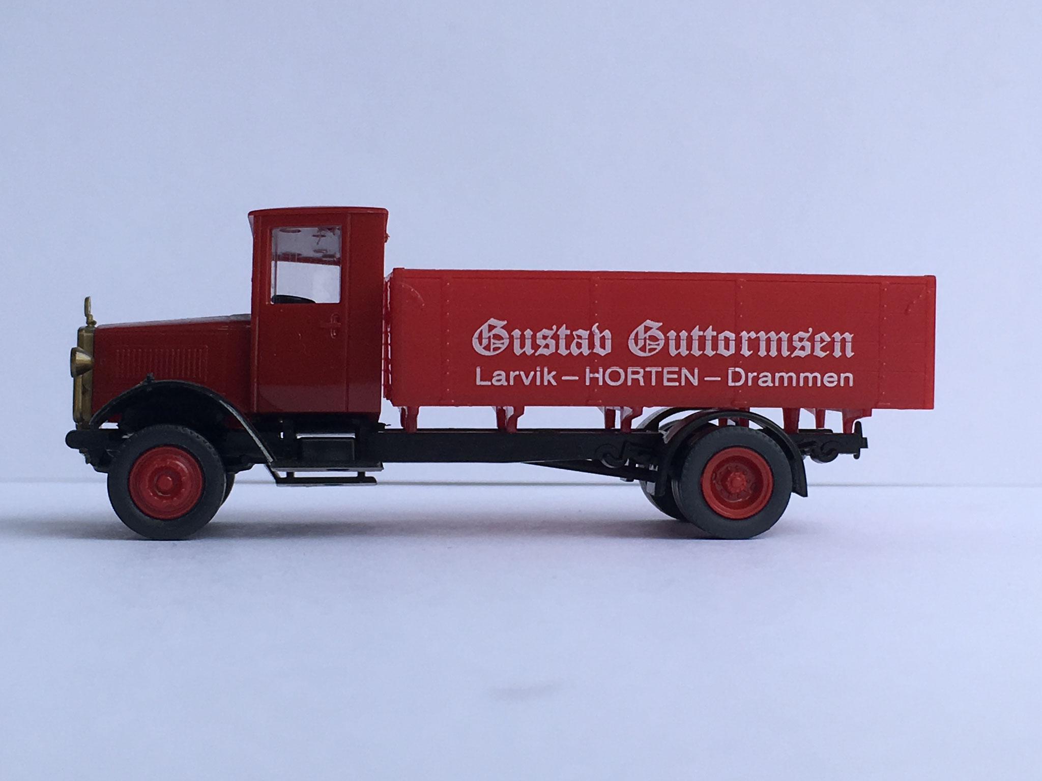 Mercedes L5 Gustav Guttormsen