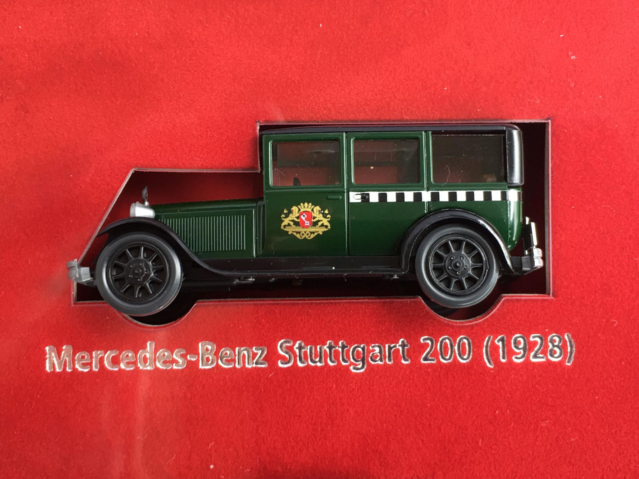 """Mercedes Typ Stuttgart Taxi aus dem Set """"Taxi-Ruf Bremen"""", 2005"""