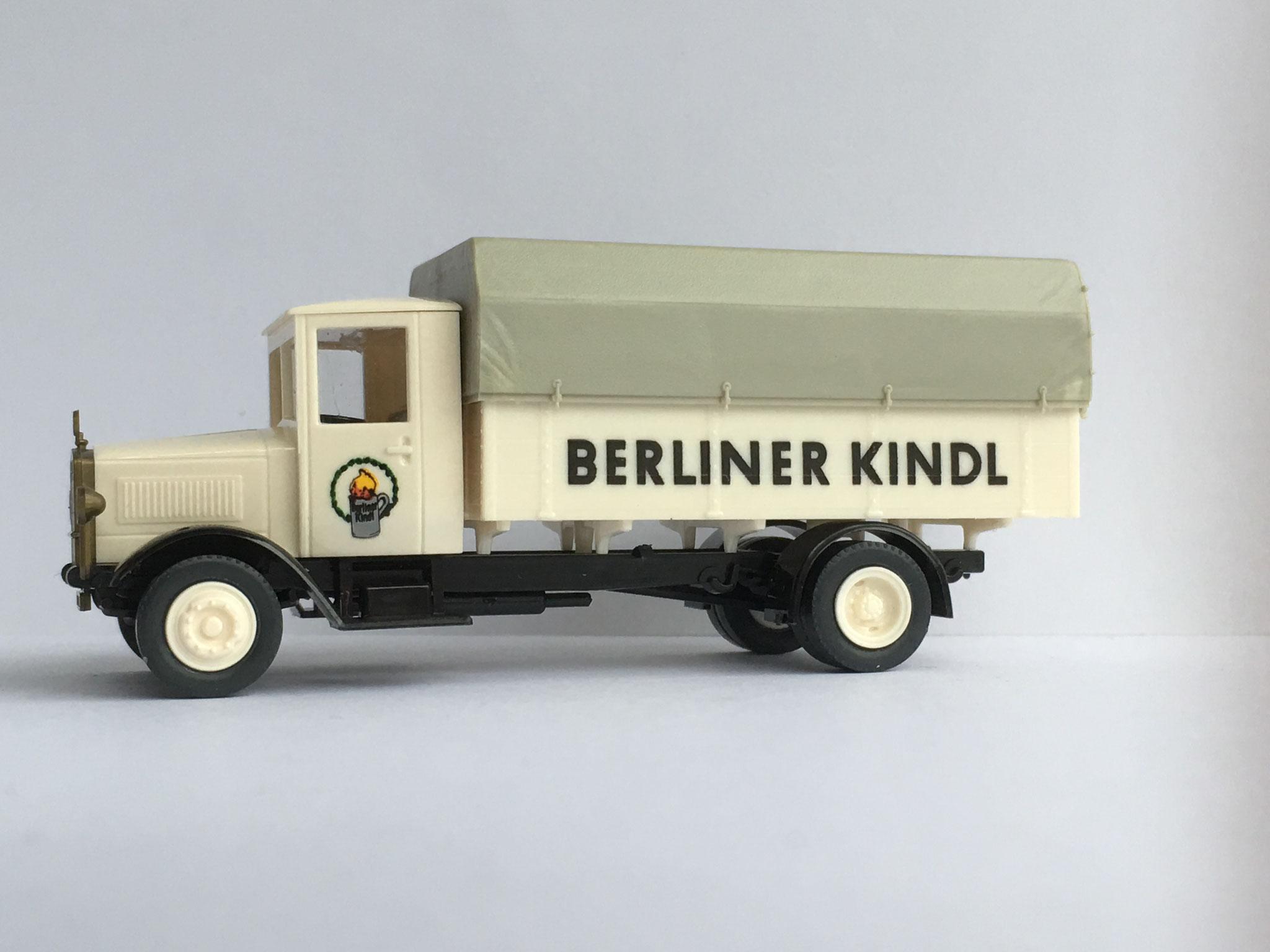 Mercedes L5 Bierwagen Berliner Kindl Brauerei, Art. Nr. 1013 (ab 1988 im Programm)