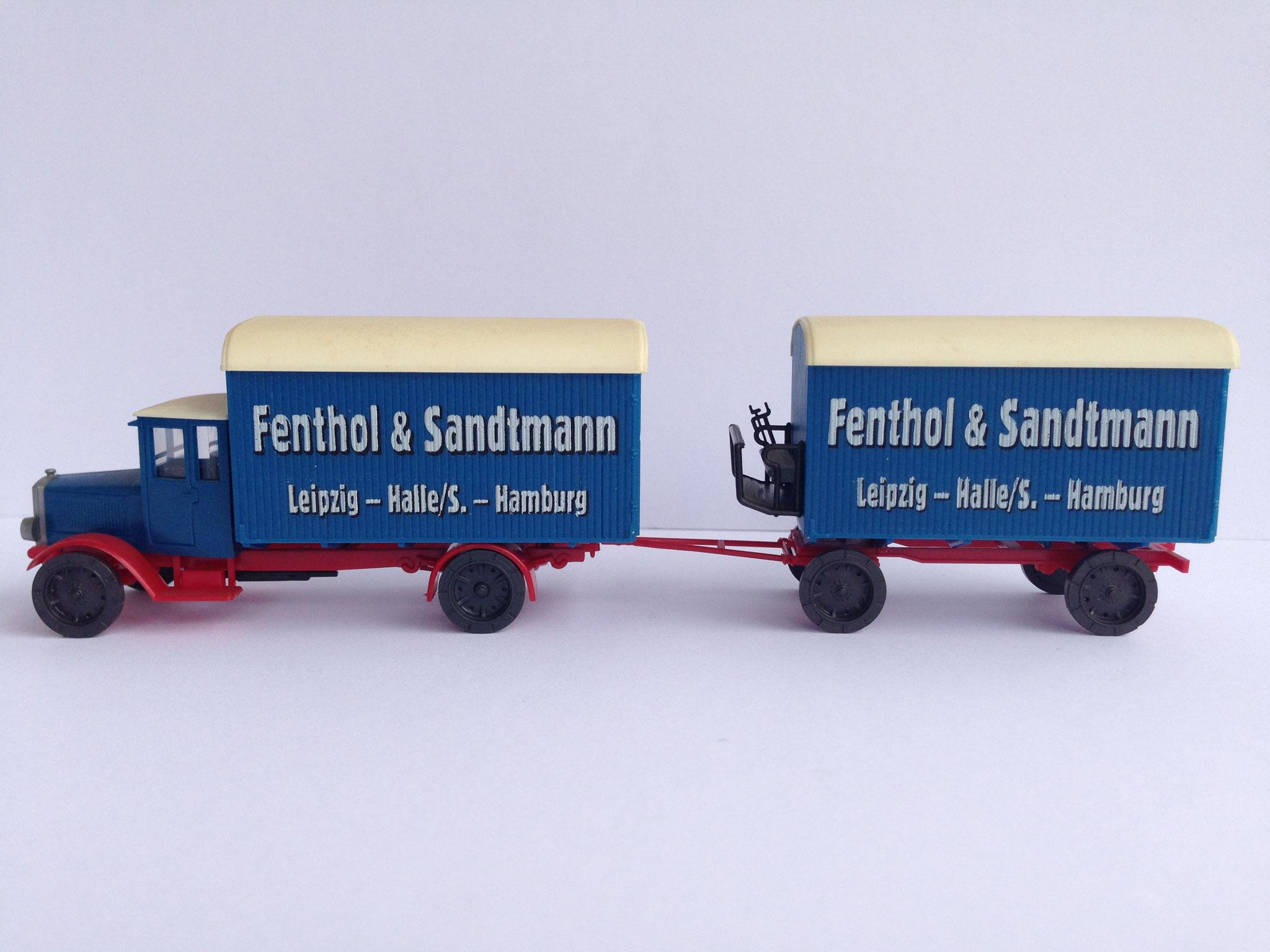 MAN T5 Fenthol & Sandtmann, Möbelzug, Art. Nr. 373.01 (von Wiking ab 1996 unter dem Label Roskopf im Programm)