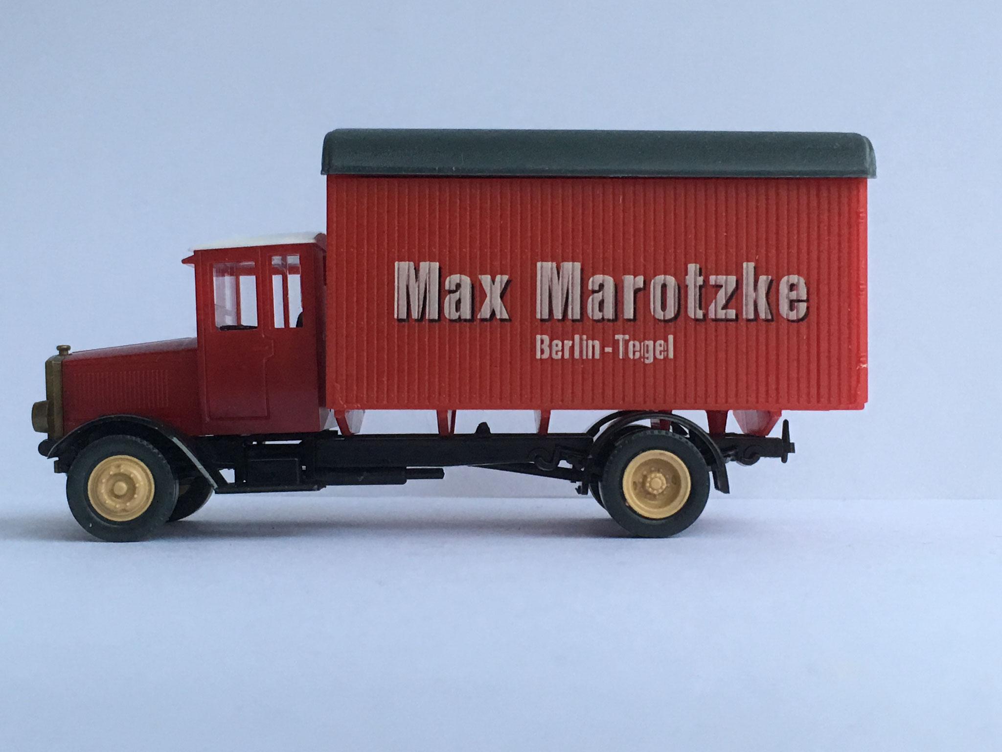 MAN T5 Möbelwagen Max Marotzke Berlin-Tegel, Art. Nr. R9 (Pietsch), 1991