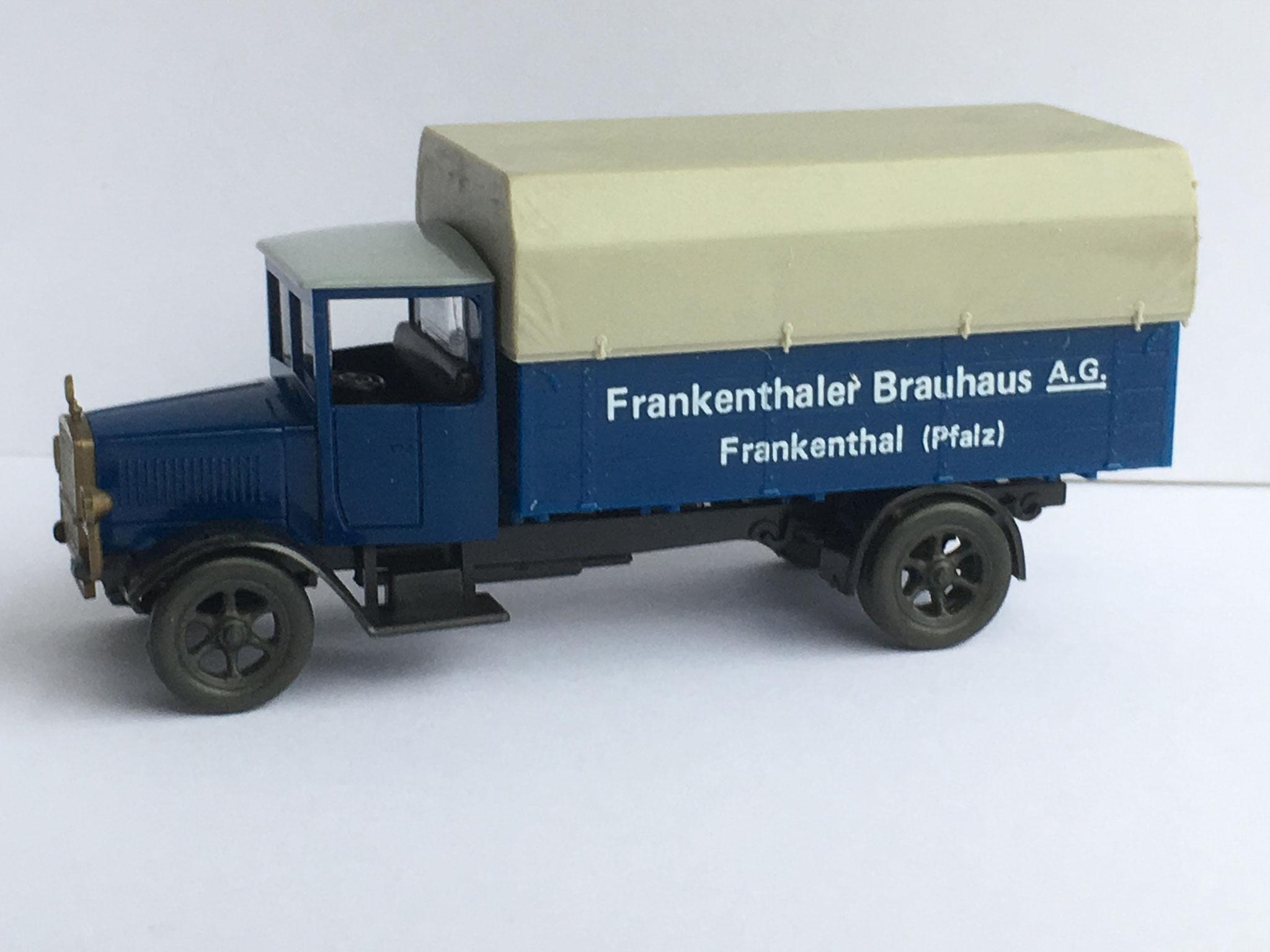 Mercedes L5 Bierwagen Frankenthaler Brauhaus, 1988