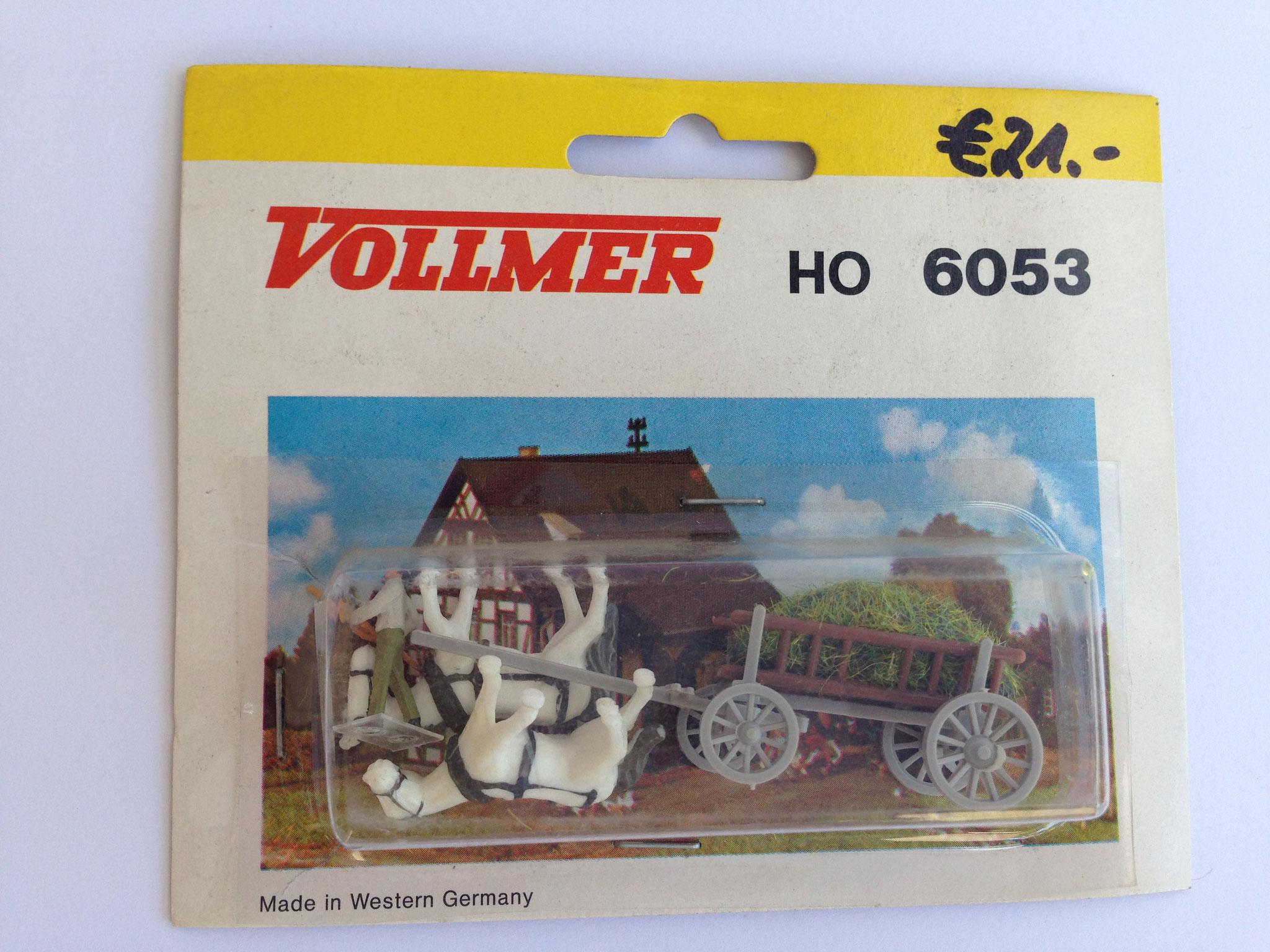 Nr. 6053 Leiterwagen, stehende Pferde
