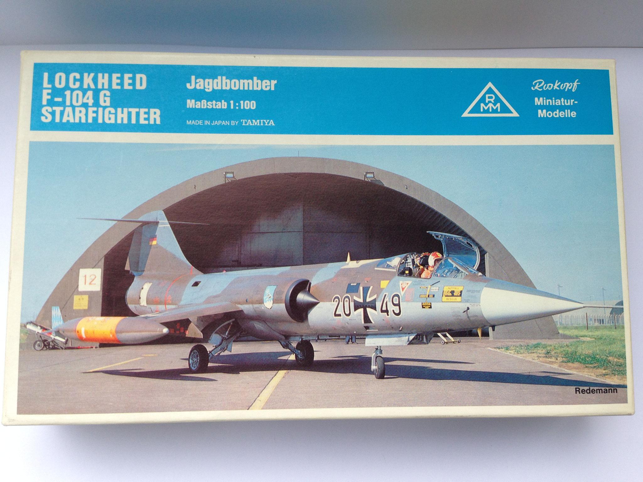 F-104 G Starfighter, Bausatz, Art. Nr. 22 (ab 1982 im Programm)