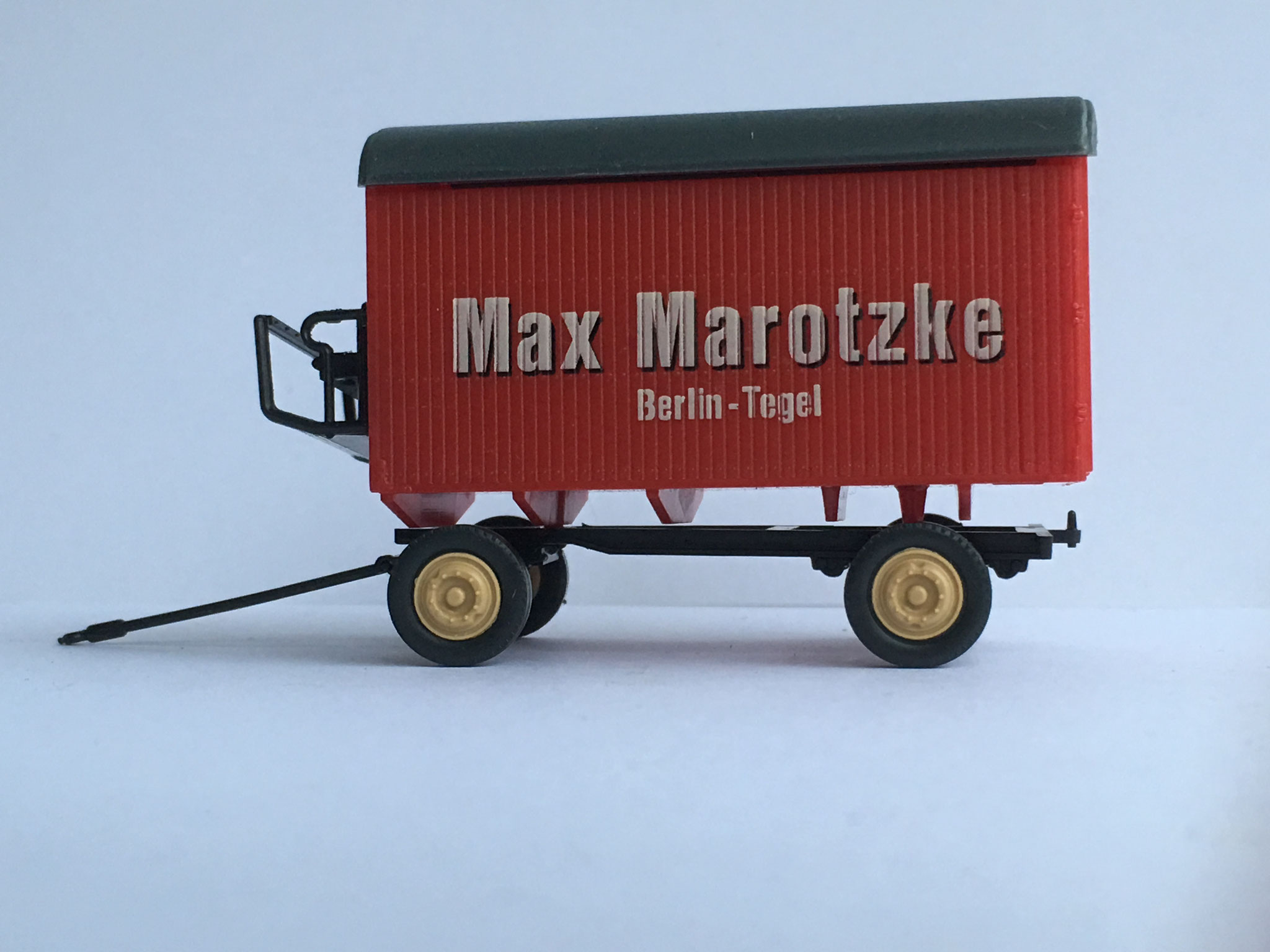 Anhänger Möbelwagen Max Marotzke Berlin-Tegel, Art. Nr. R10 (Pietsch)