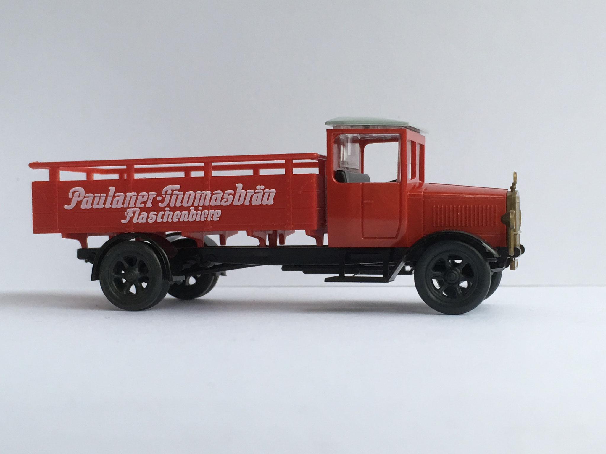 Mercedes L5 Brauereiwagen Paulaner Thomasbräu, Art. Nr. 333 (ab 1992 im Programm)