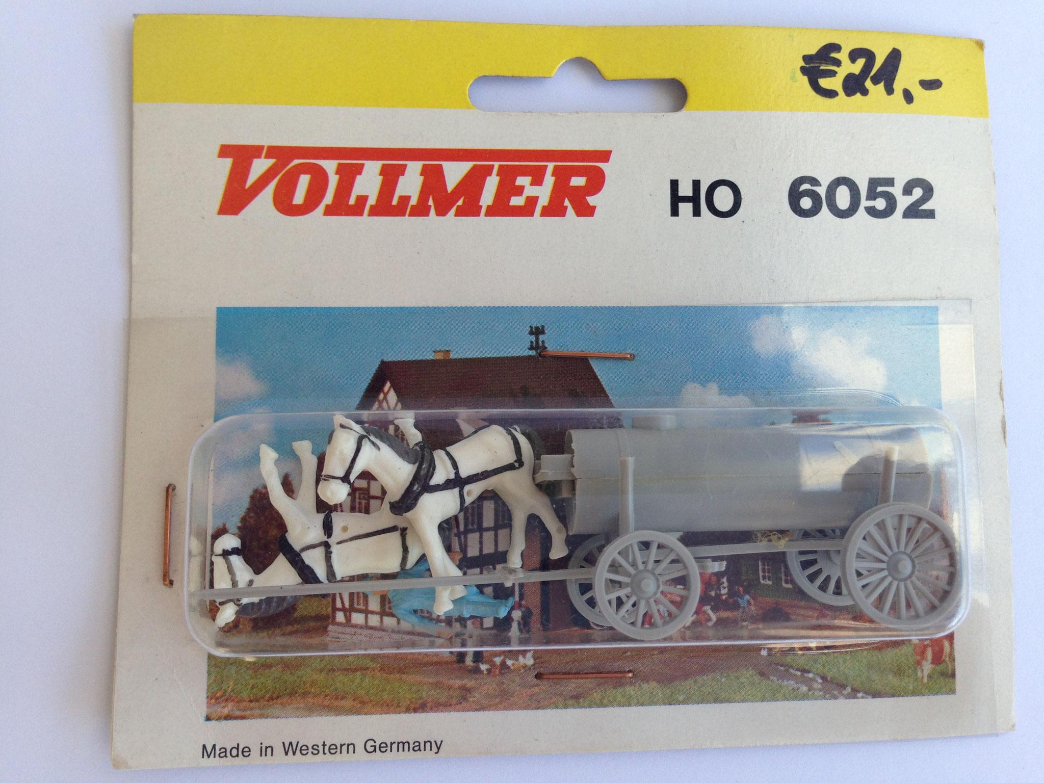 Nr. 6052 Jauchewagen, stehende Pferde