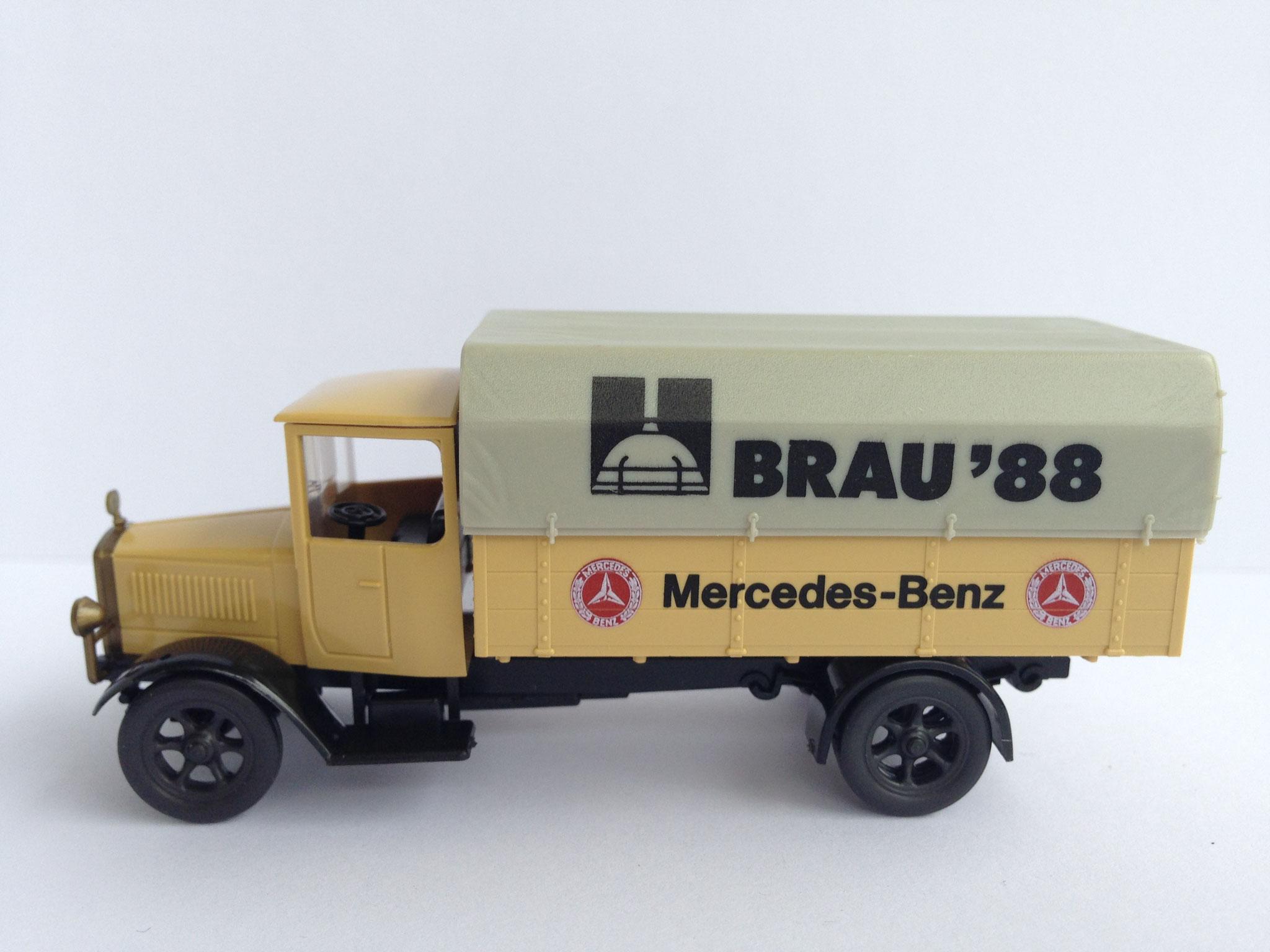 Mercedes L5 Bierwagen Brau 88 (MB-Museum), 1988