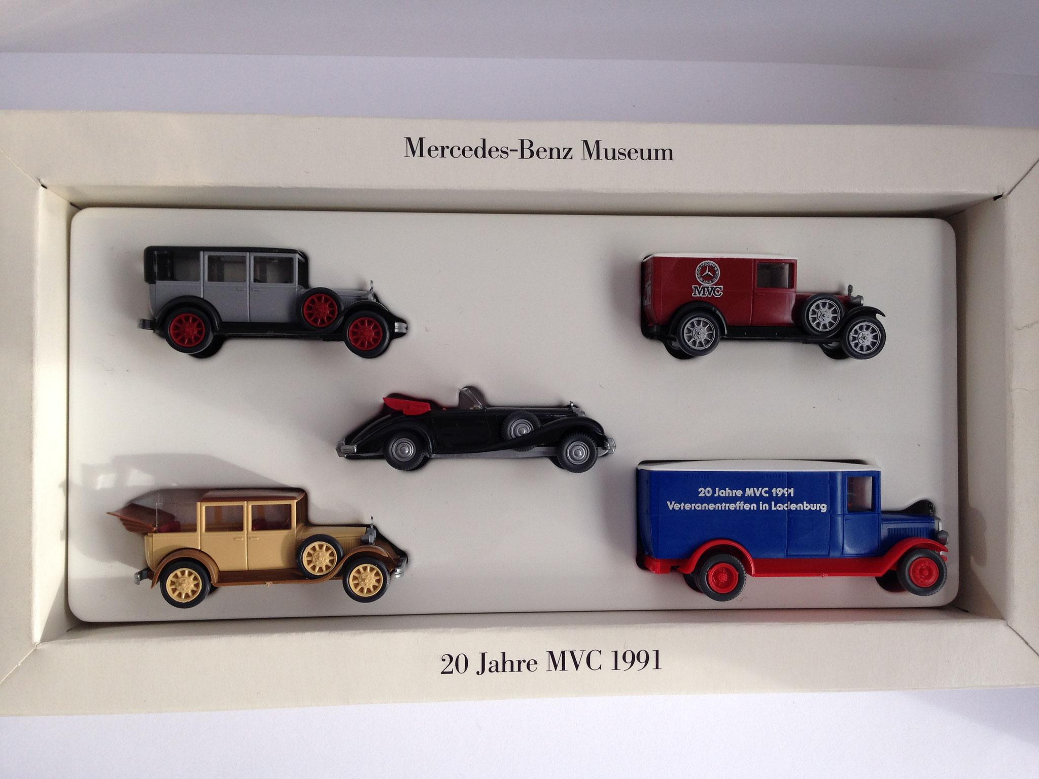 Set 20 Jahre MVC 1991