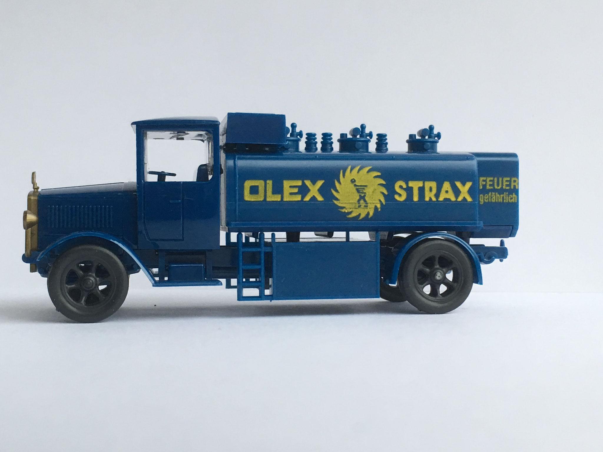 Mercedes L5 Tankwagen OLEX STRAX, Variante 4, Art. Nr. 1017 (ab 1989 im Programm)