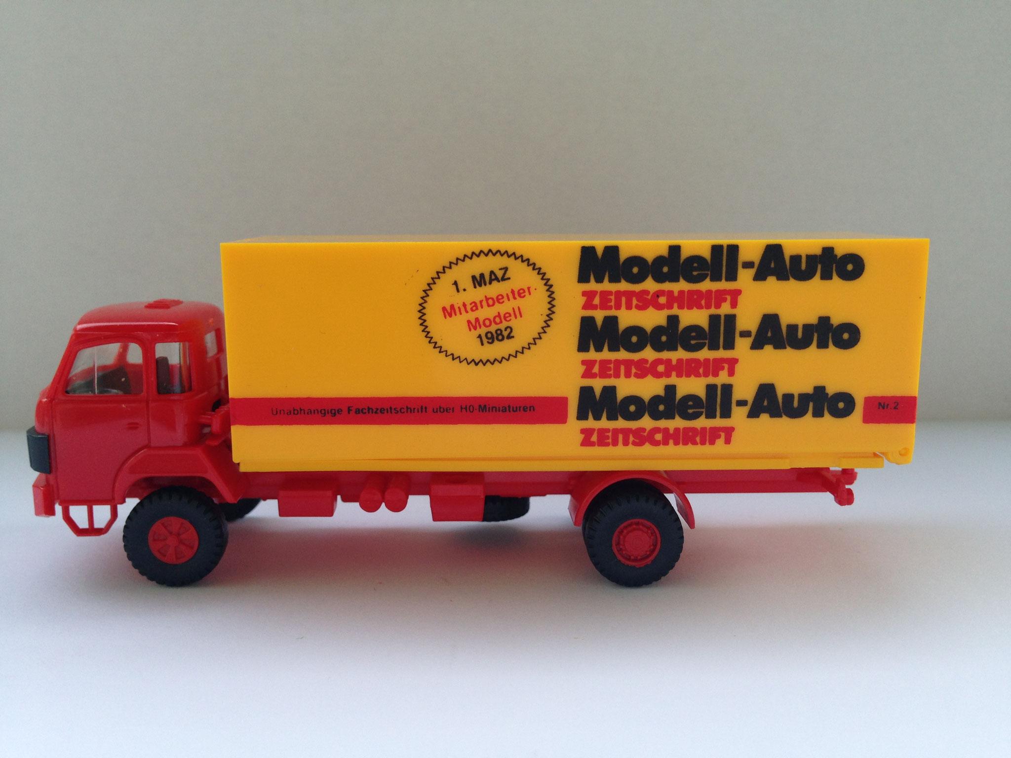 MAZ Mitarbeitermodell 1982