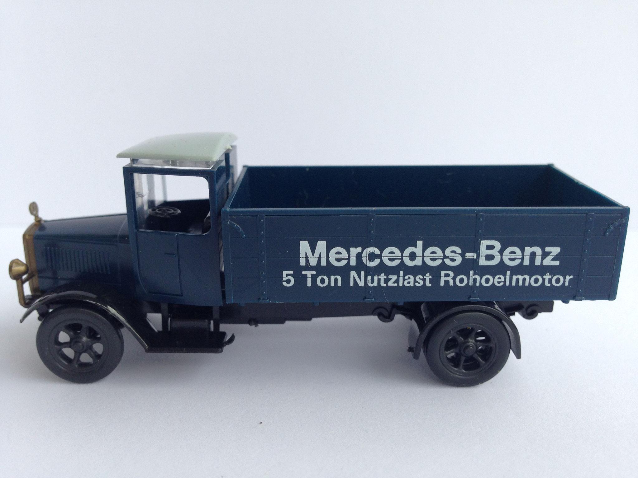 Mercedes L5 Mercedes-Benz 5 Ton Nutzlast Rohoelmotor (MB-Museum)