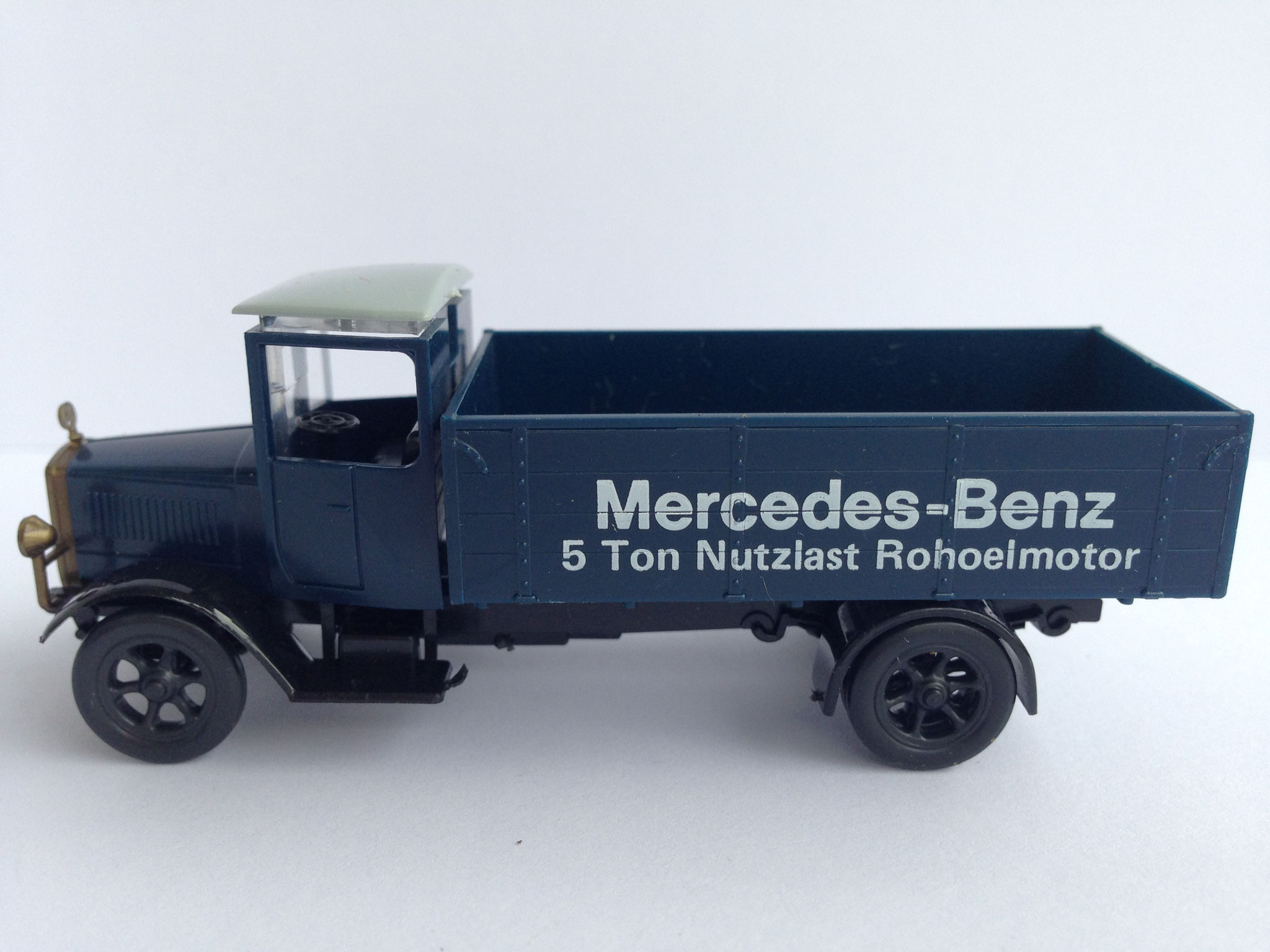Mercedes L5 Mercedes-Benz 5 Ton Nutzlast Rohoelmotor (MB-Museum), 1990