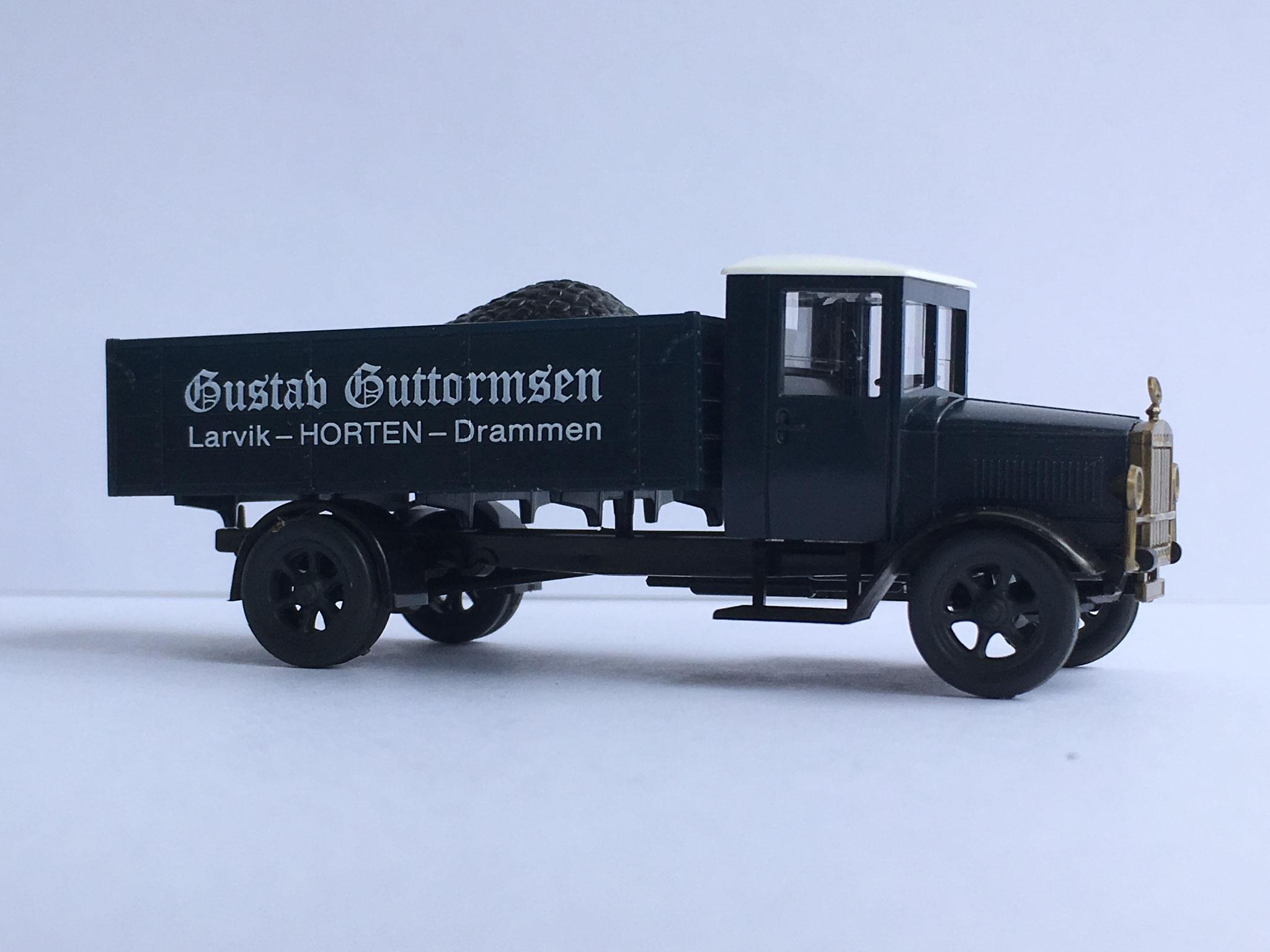 Mercedes L5 Kohlenwagen Gustav Guttormsen