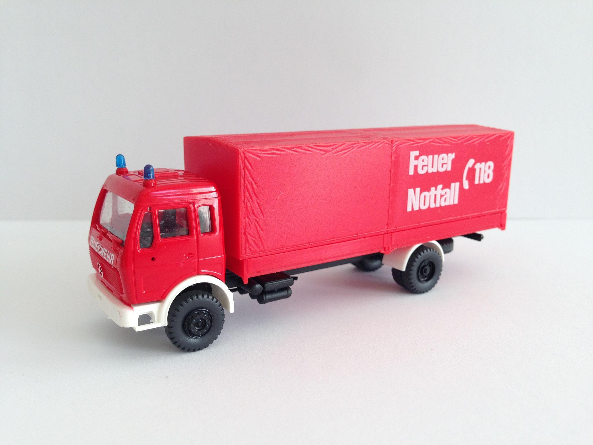 Feuerwehr, 2-Achs-Gerätewagen, Notruf 118, Art. Nr. 516 (S)