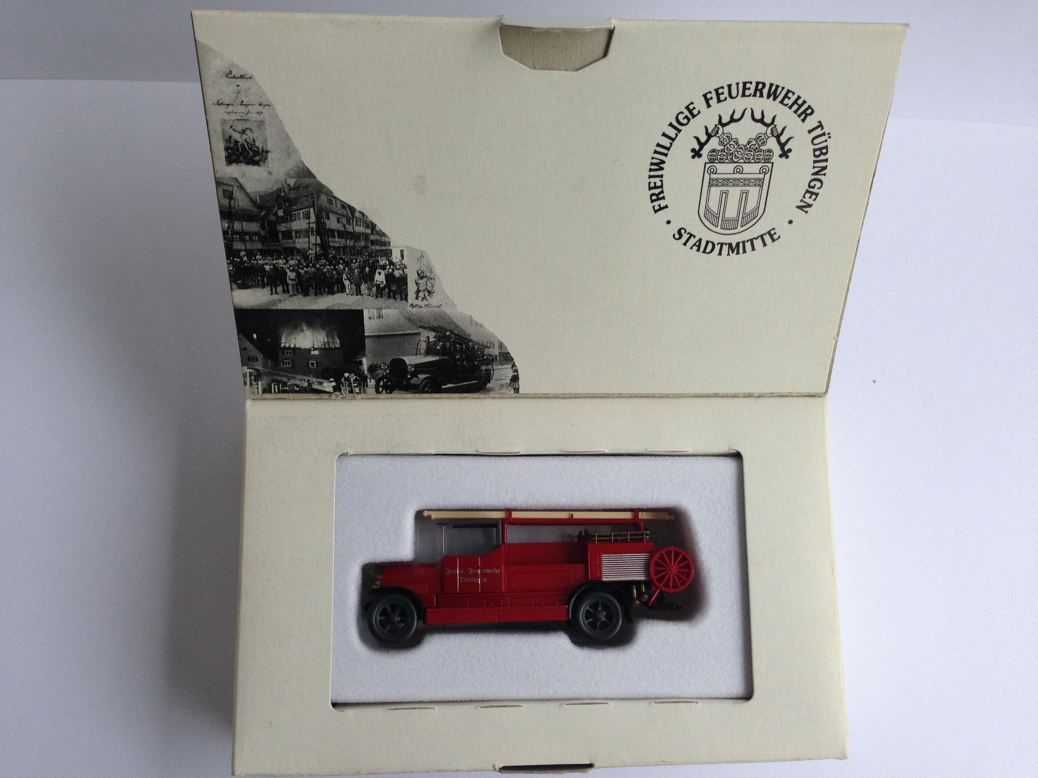 Benz LF12 Feuerwehr-Motorspritze, 150 Jahre Freiwillige Feuerwehr Tübingen, 1997 (Sonderauflage 1000 Stk.)