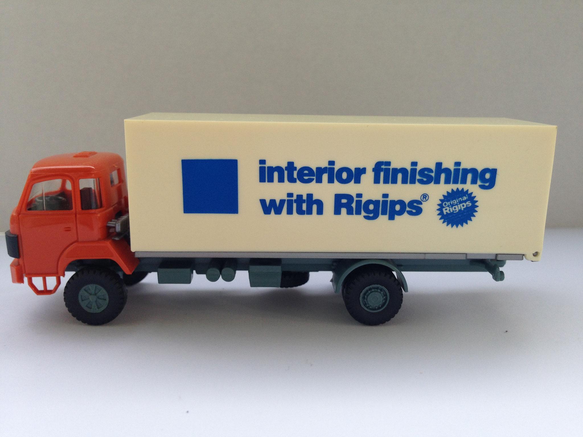 Rigips, 2-Achser Kasten, Sondermodell
