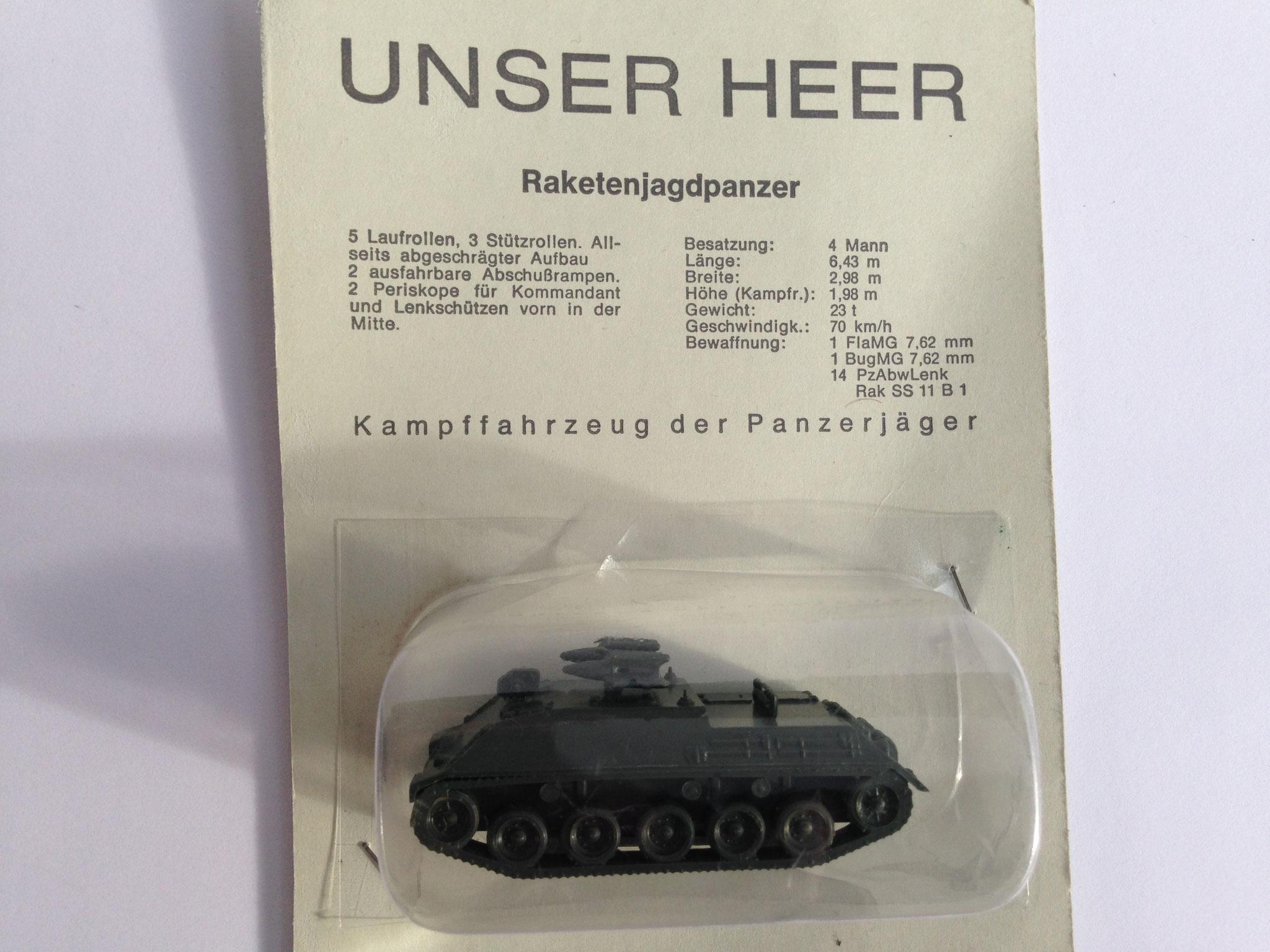 "Unser Heer ""Raketenjagdpanzer"""