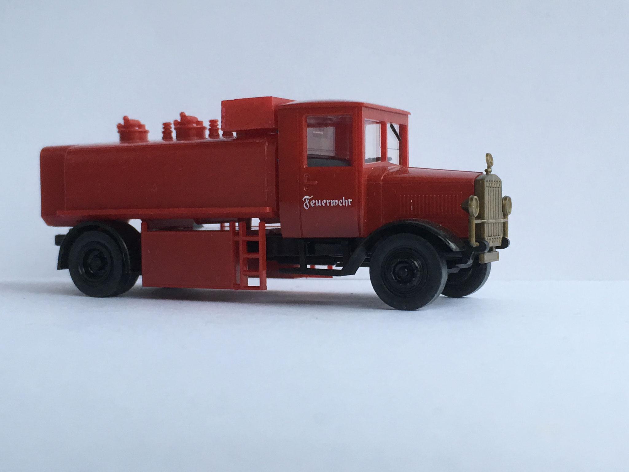 Mercedes L5 Feuerwehr Wassertankwagen