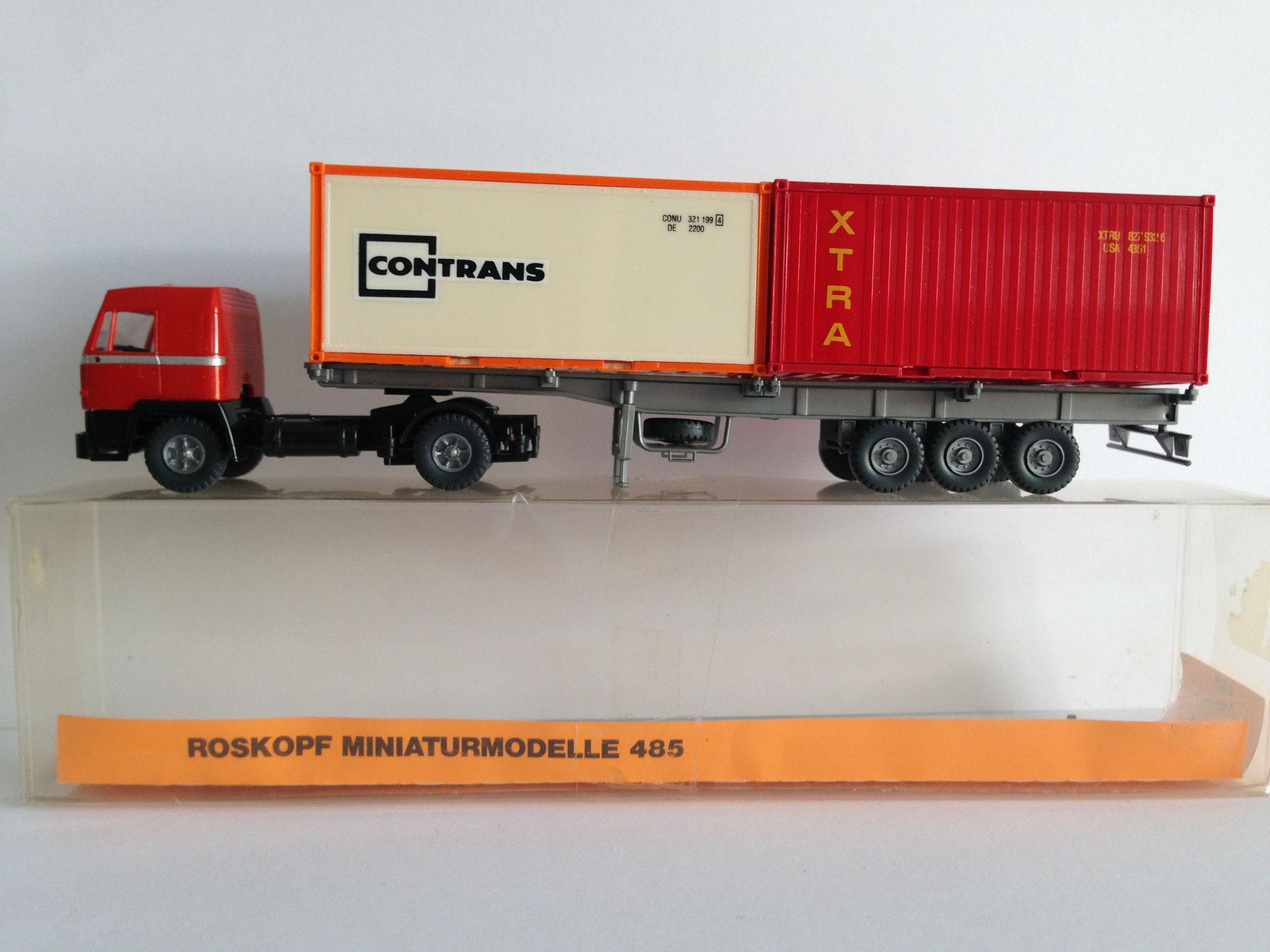Nr. 485, Sattelschlepper mit 2-achsiger Zugmaschine von Roskopf (1988)