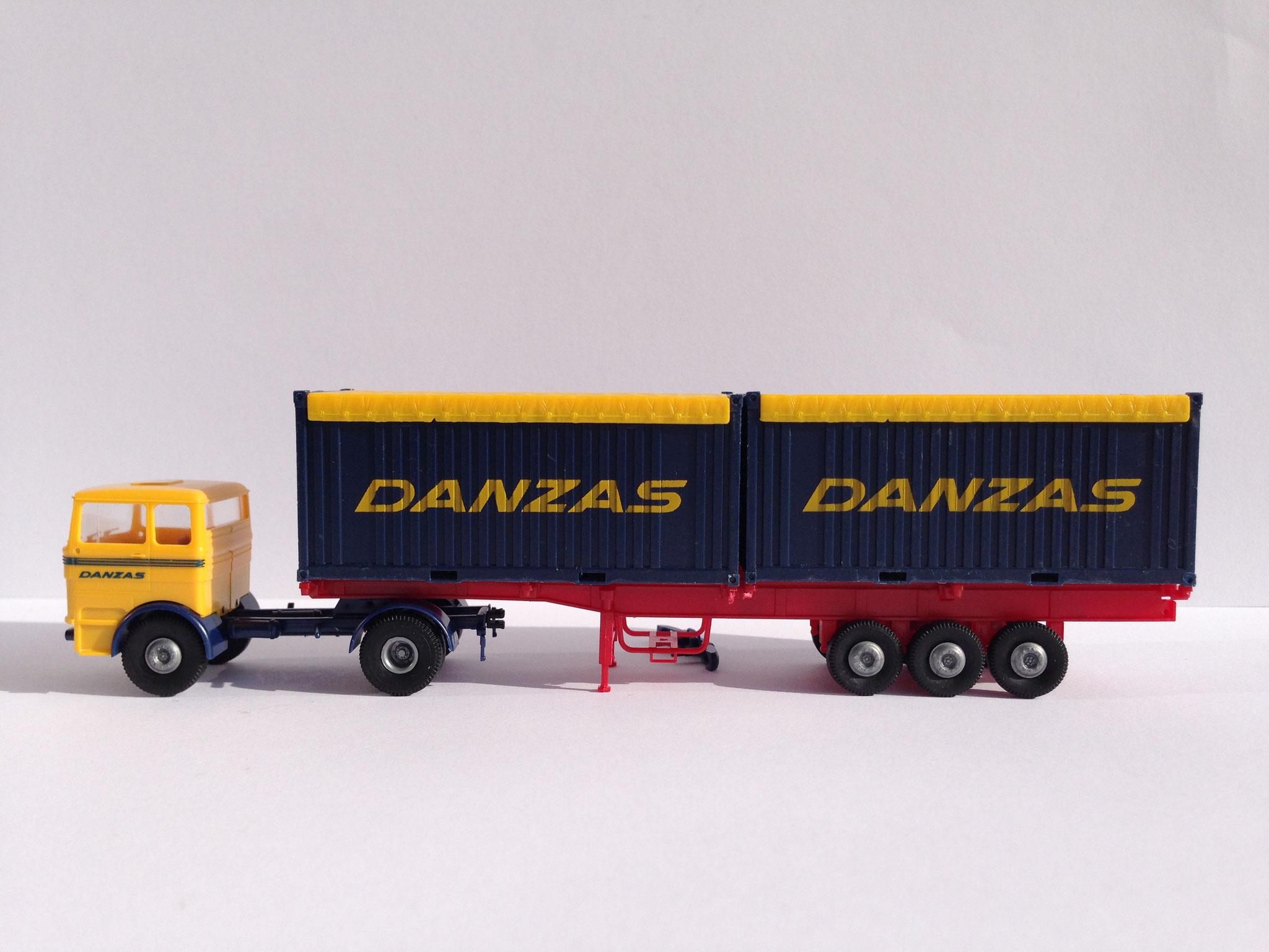 Containerauflieger Danzas, zu Art. Nr. 8112