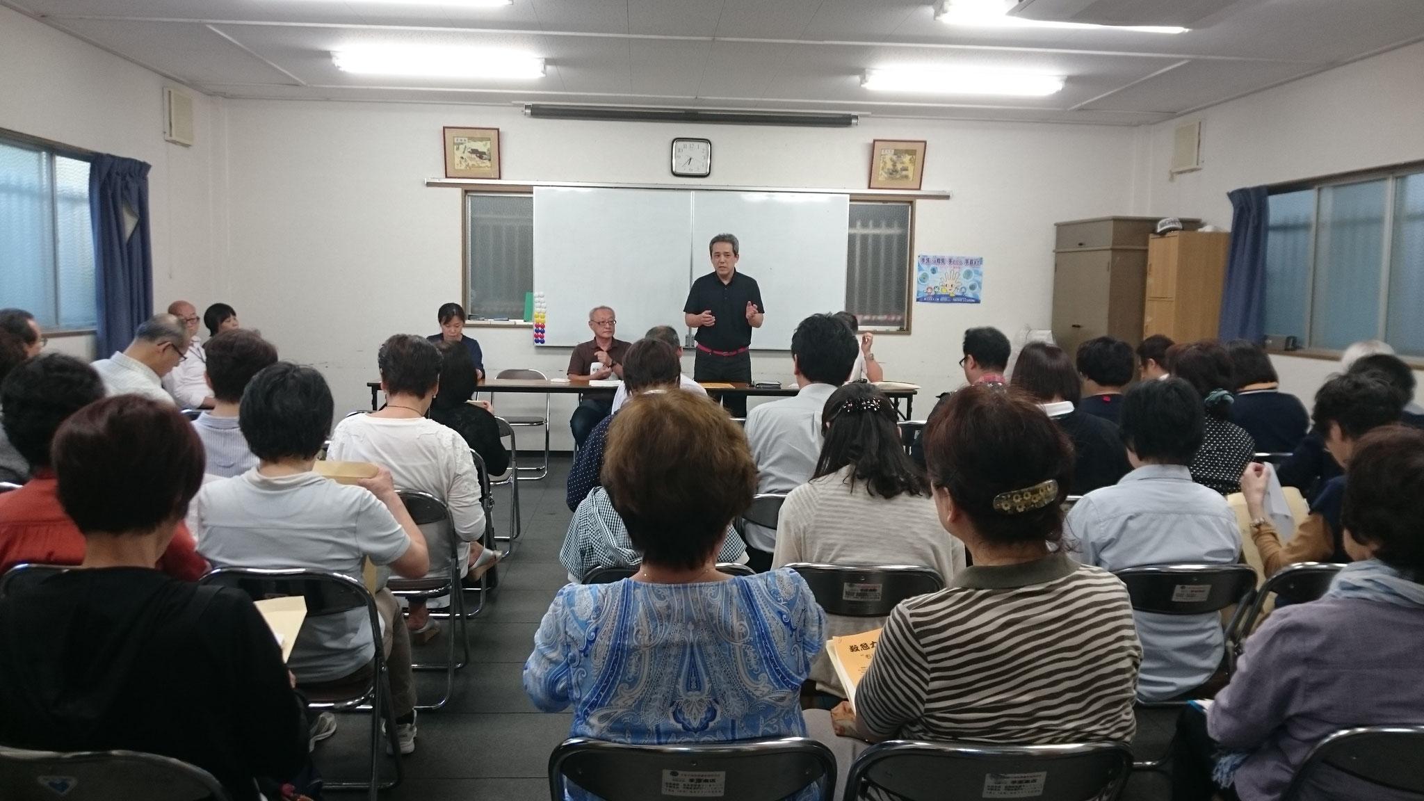 墨江地域活動協議会 会長挨拶