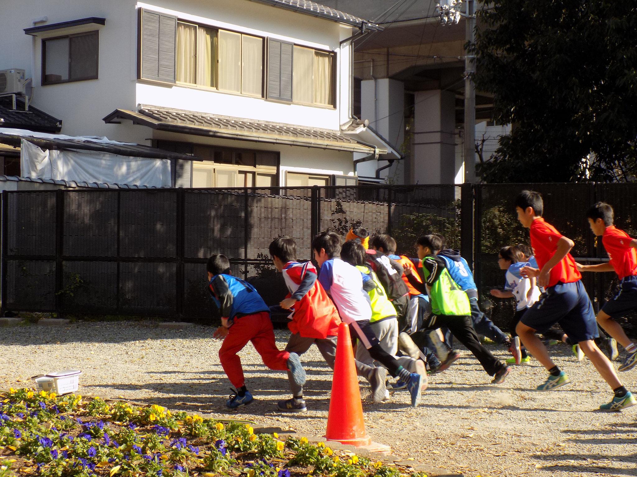 マラソン風景3