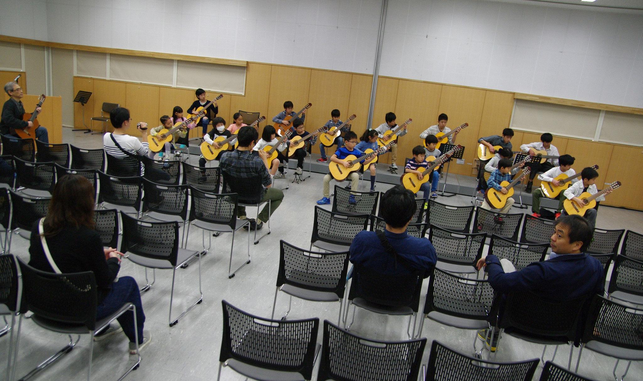 本番前の合奏リハーサル