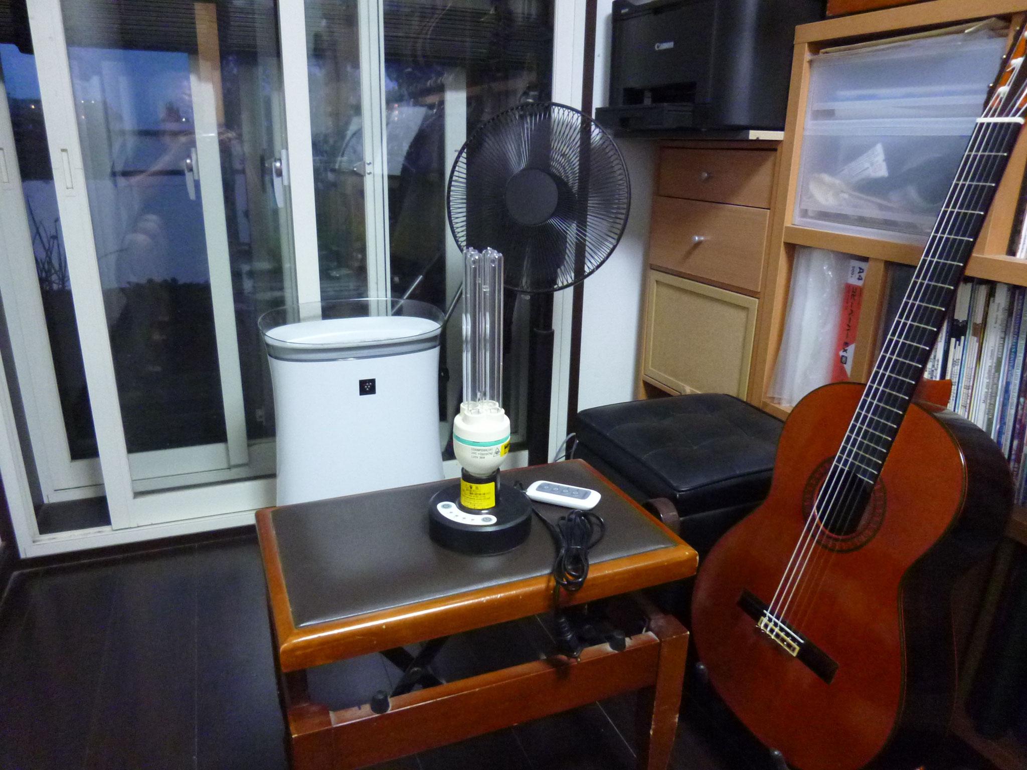 UV-C紫外線オゾン滅菌器&空気清浄機