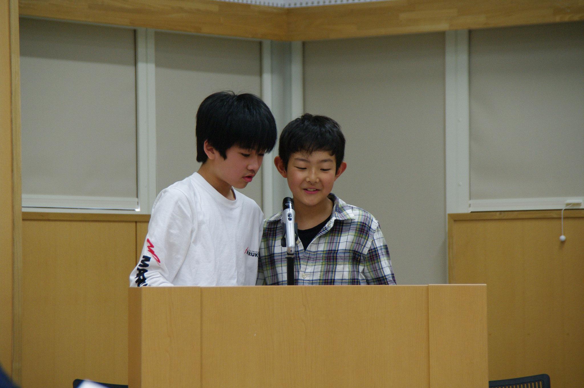 第二部司会:繁田龍斉君&高橋大貴君