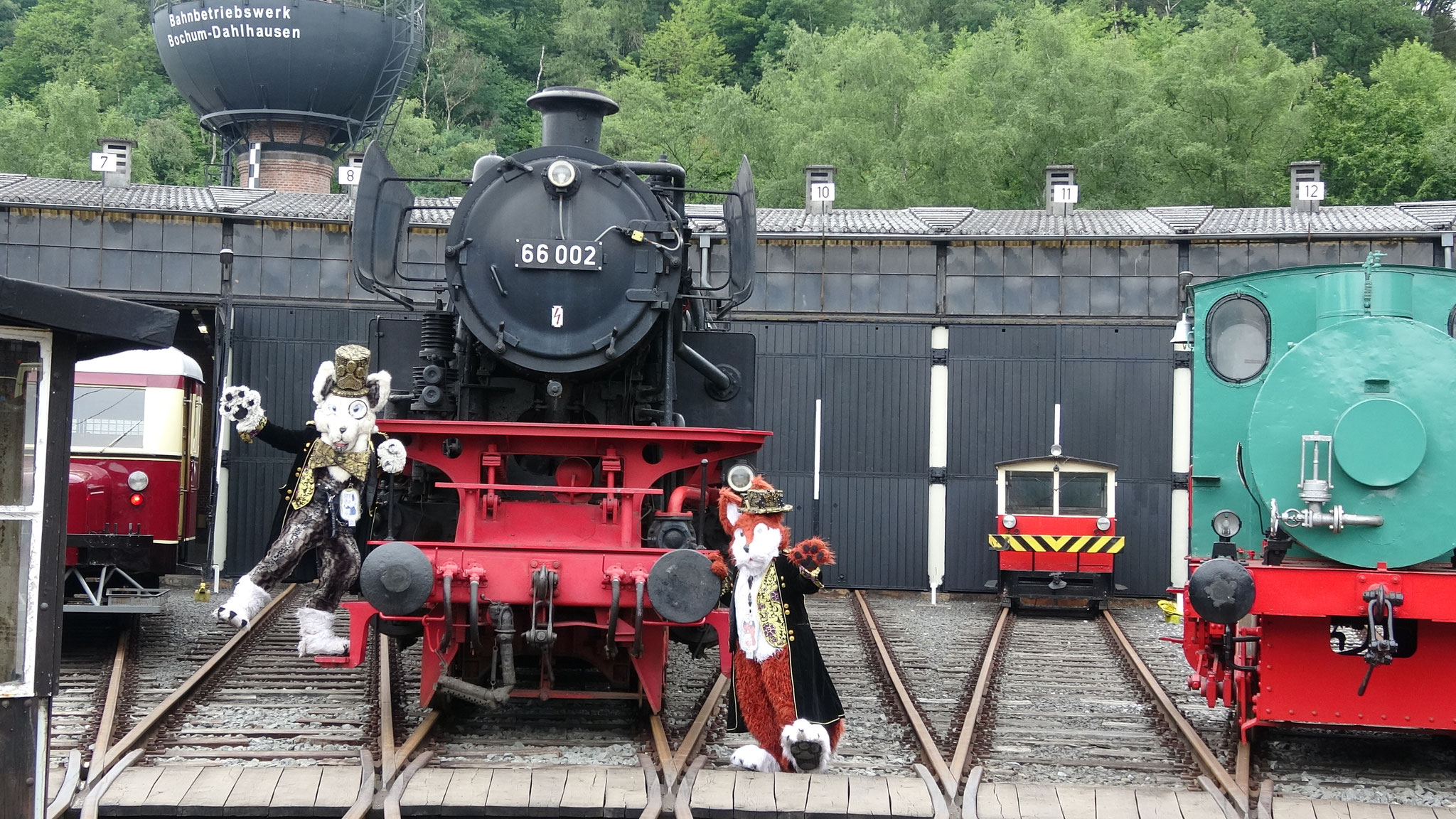 Im Eisenbahnmuseum Bochum