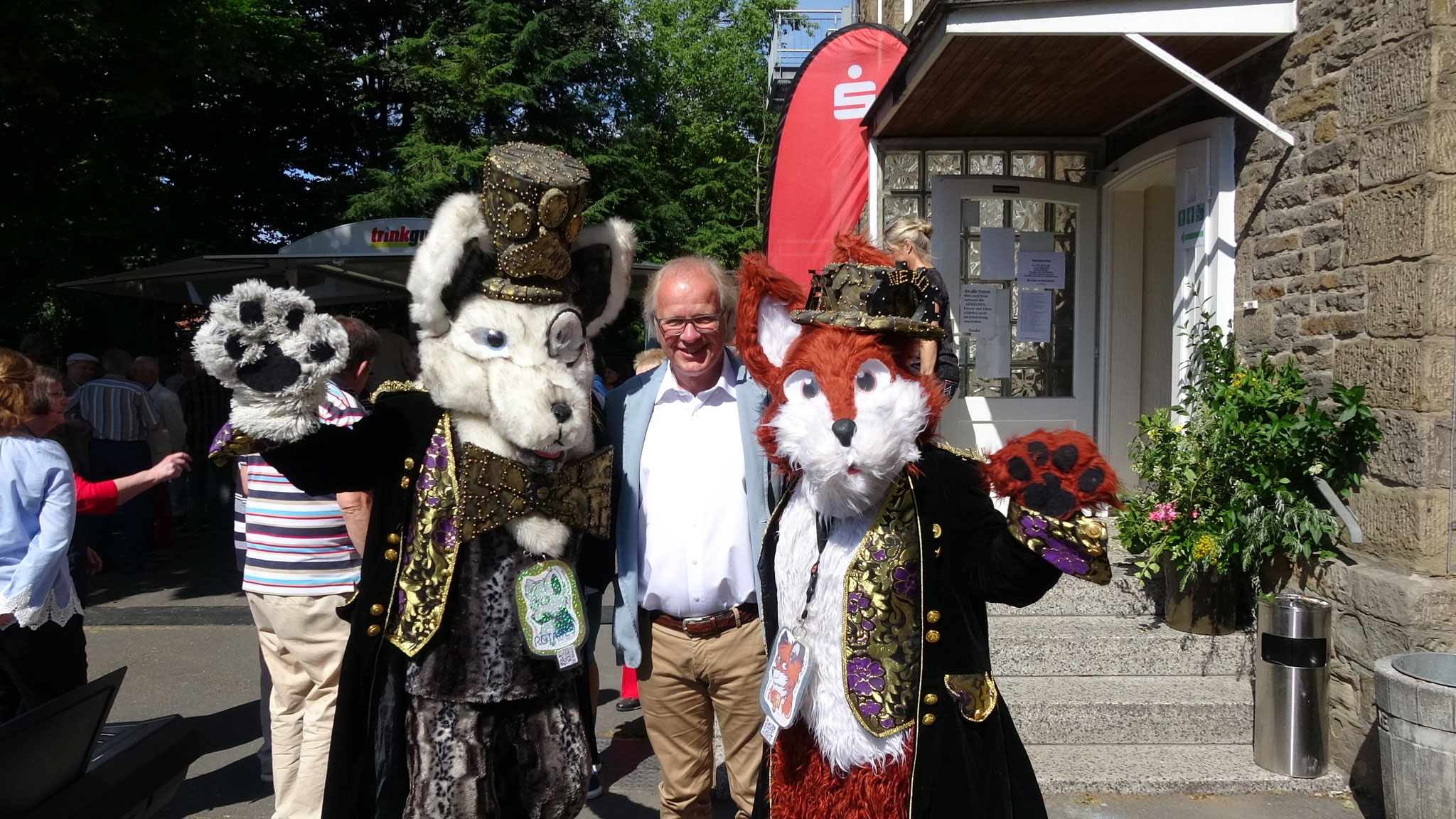 Mit Hattingen Bürgermeister Dirk Glaser