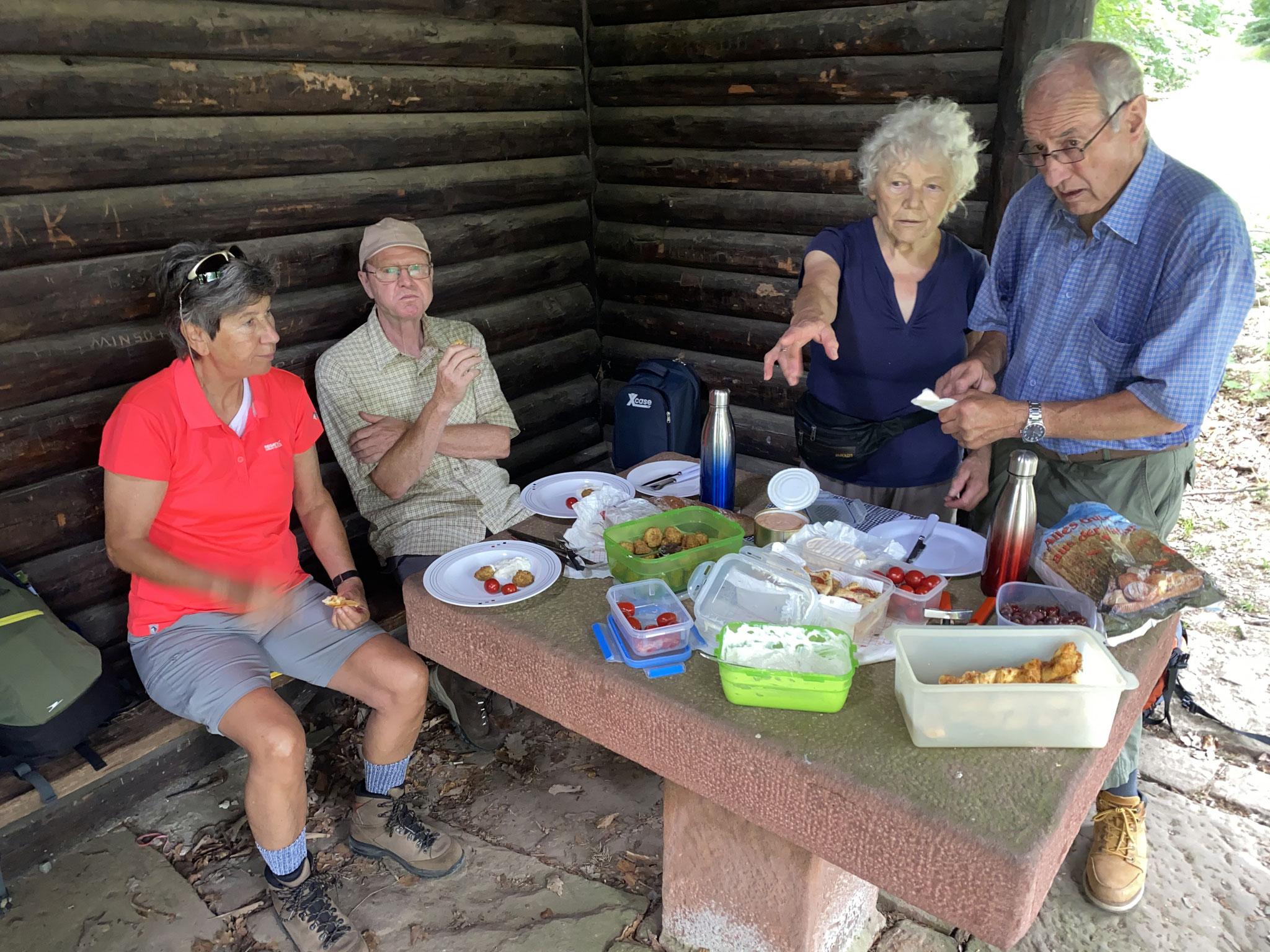 In der Kraussteinhütte