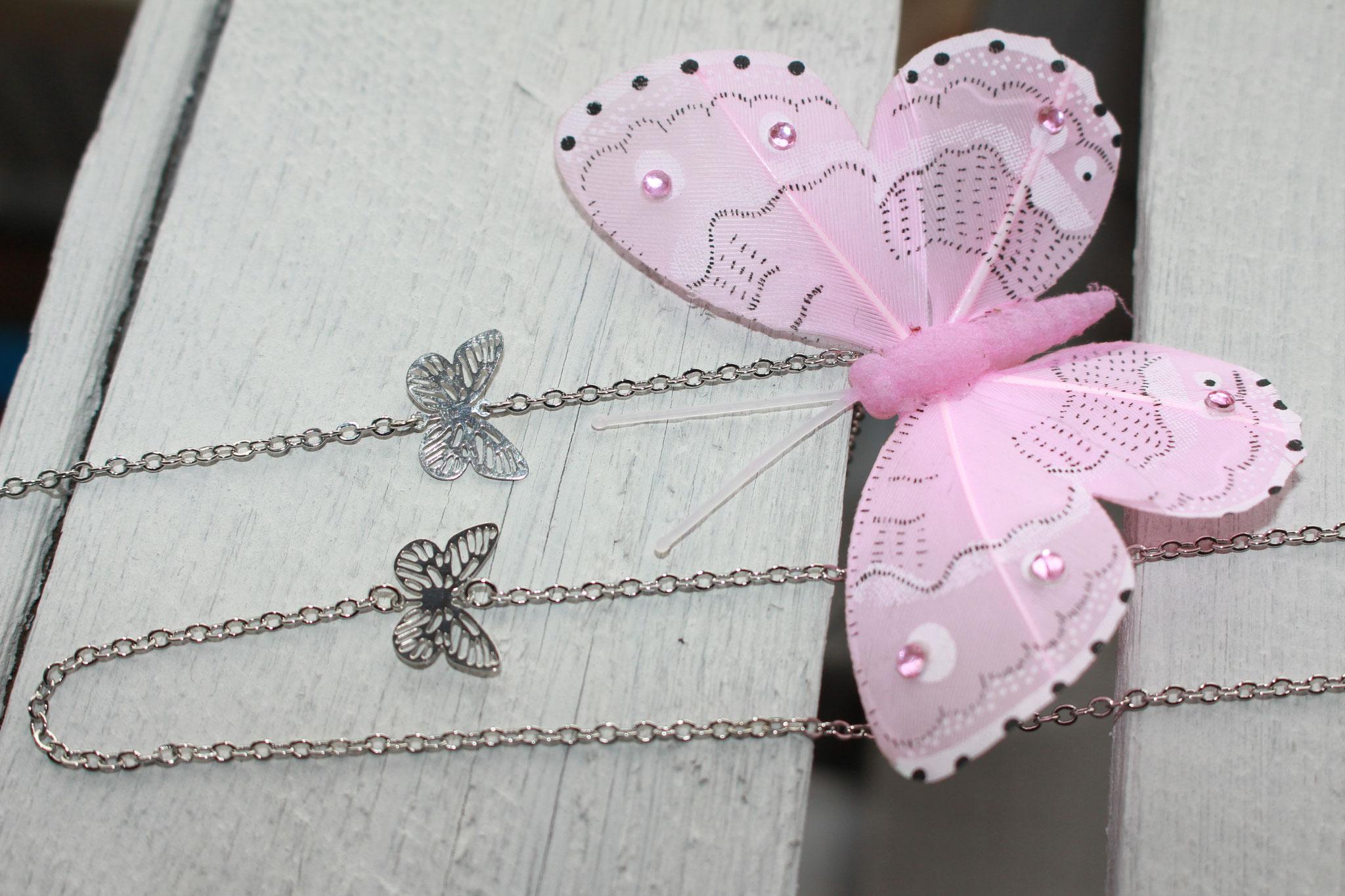 NEU - der Frühling kommt - Set aus Halskette und Armband